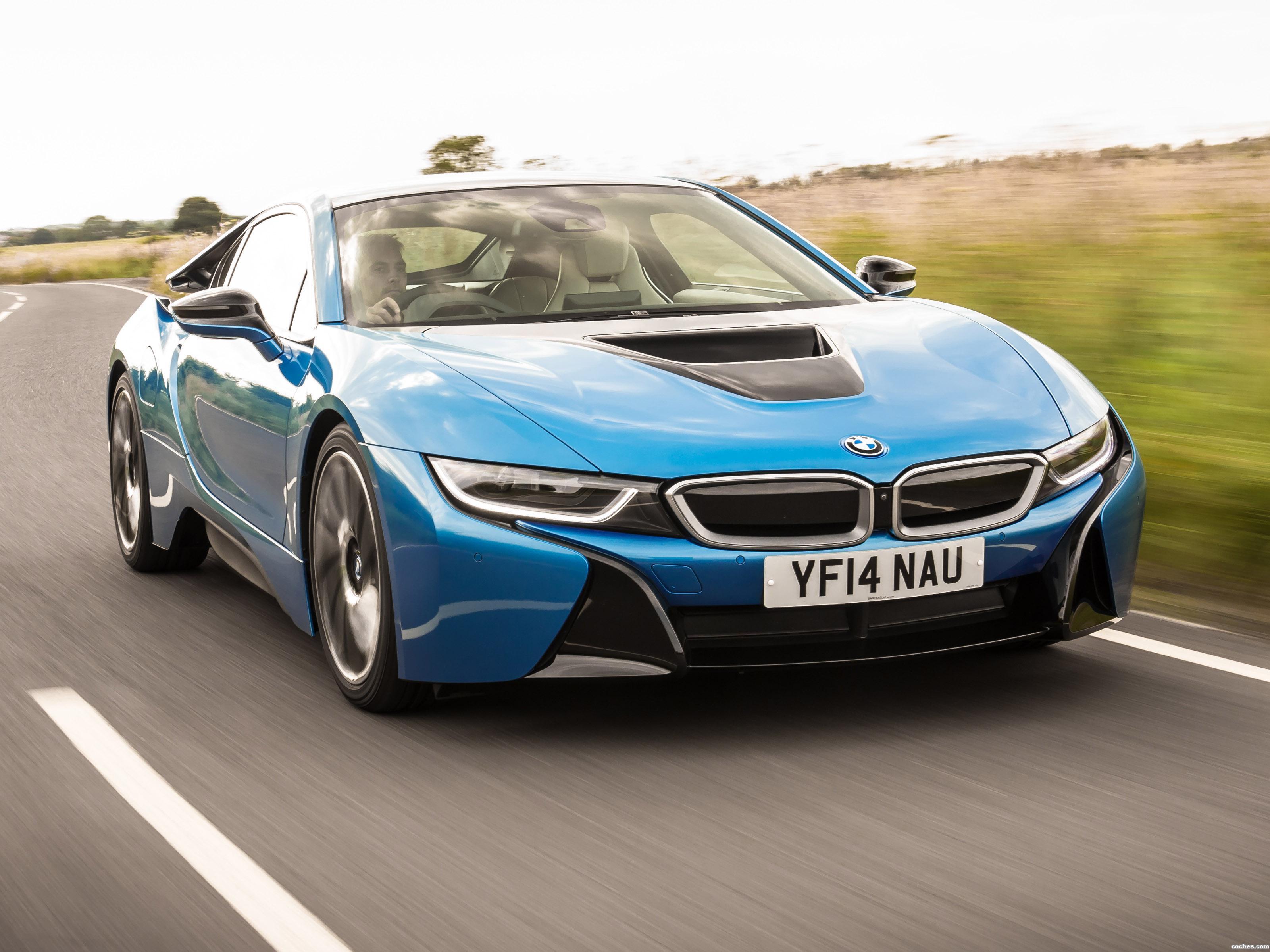 Foto 40 de BMW i8 UK 2014
