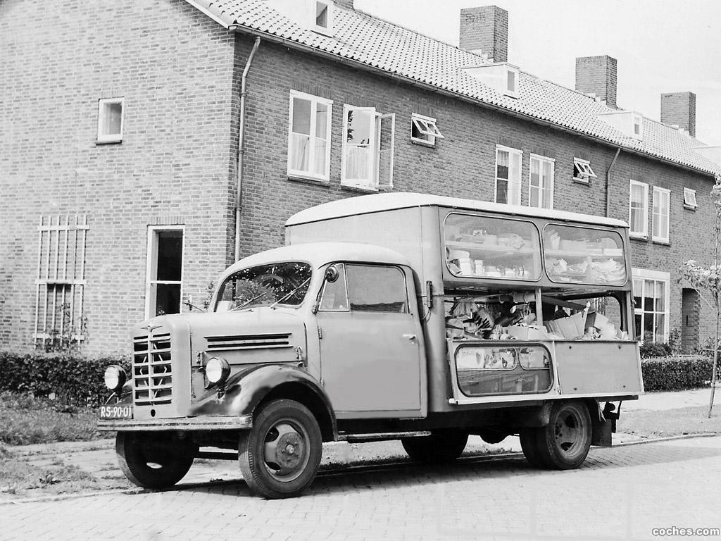 Foto 0 de Borgward B-1500 1952