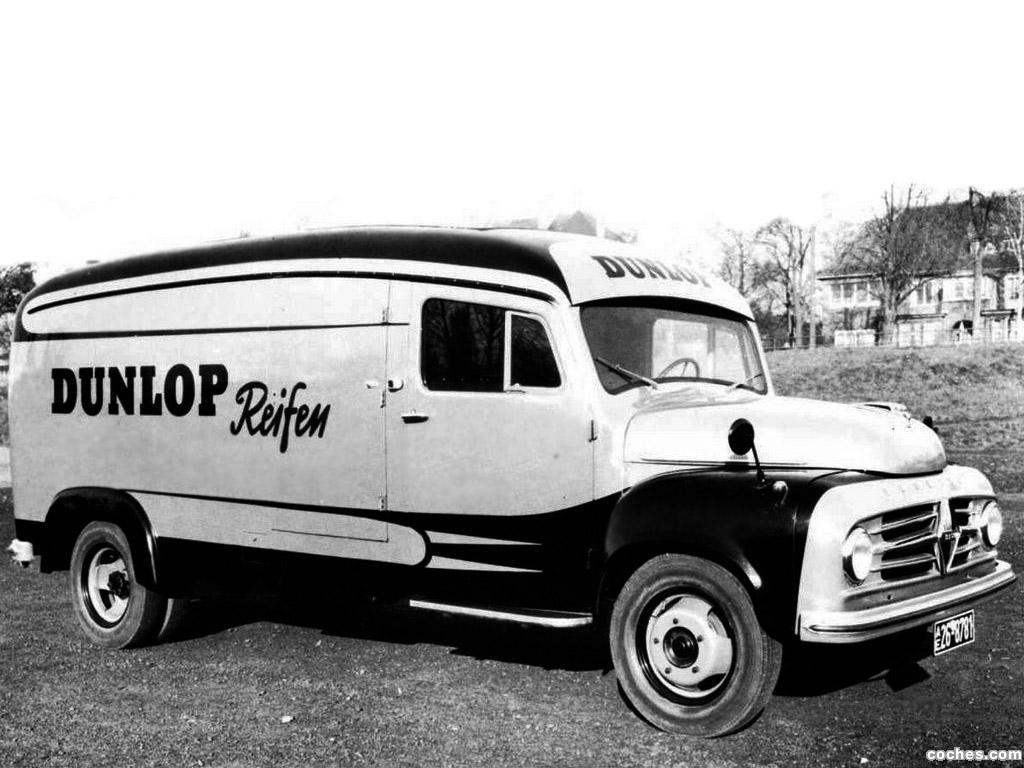 Foto 0 de Borgward B-1500 Kasten 1954