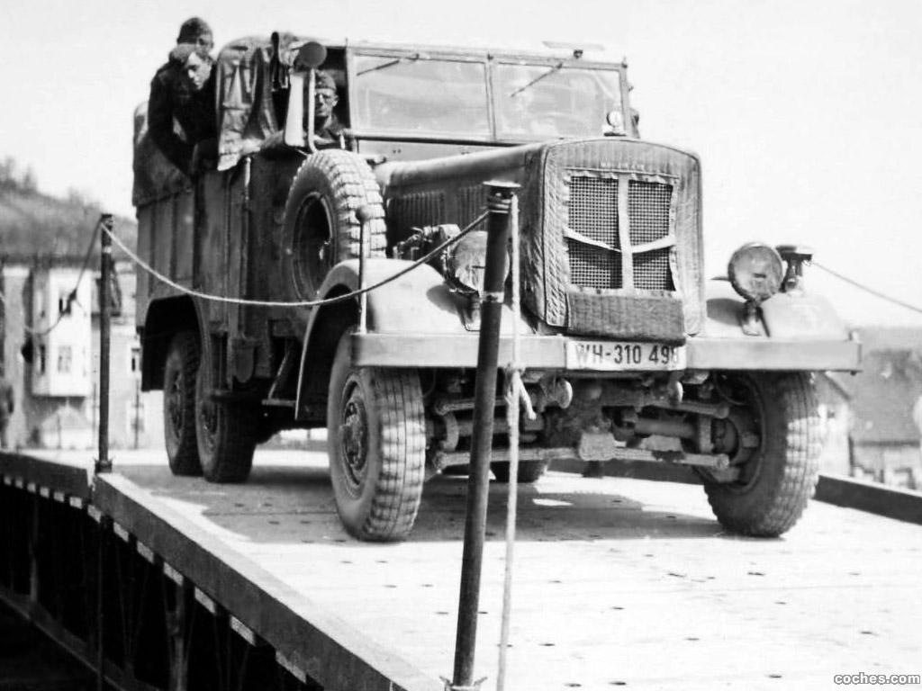 Foto 0 de Borgward Einheitsdiesel  1937