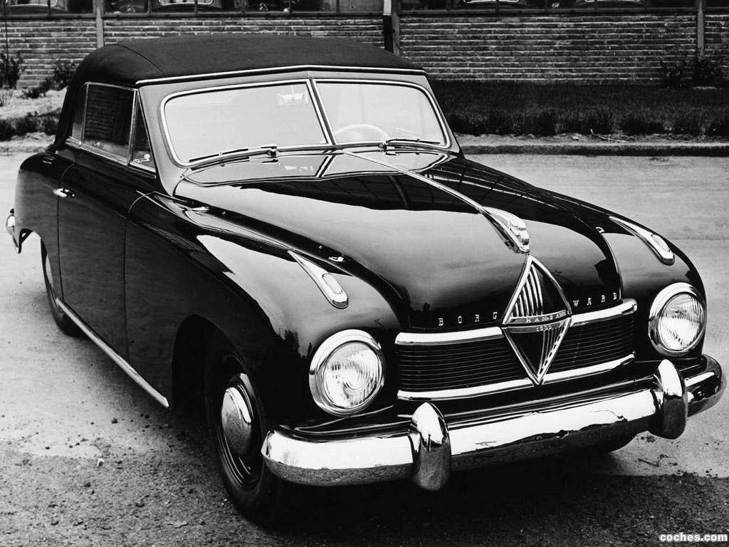 Foto 0 de Borgward Hansa 1500 Sport Cabriolet 1950