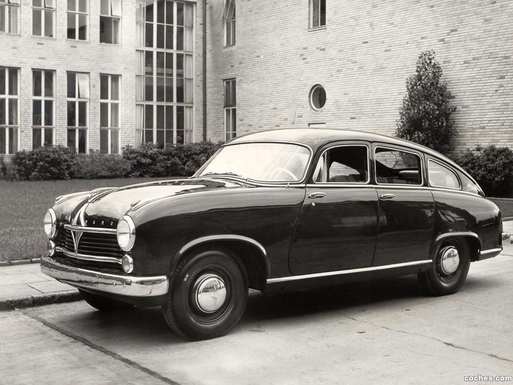 Foto 0 de Borgward Hansa 2400 1952