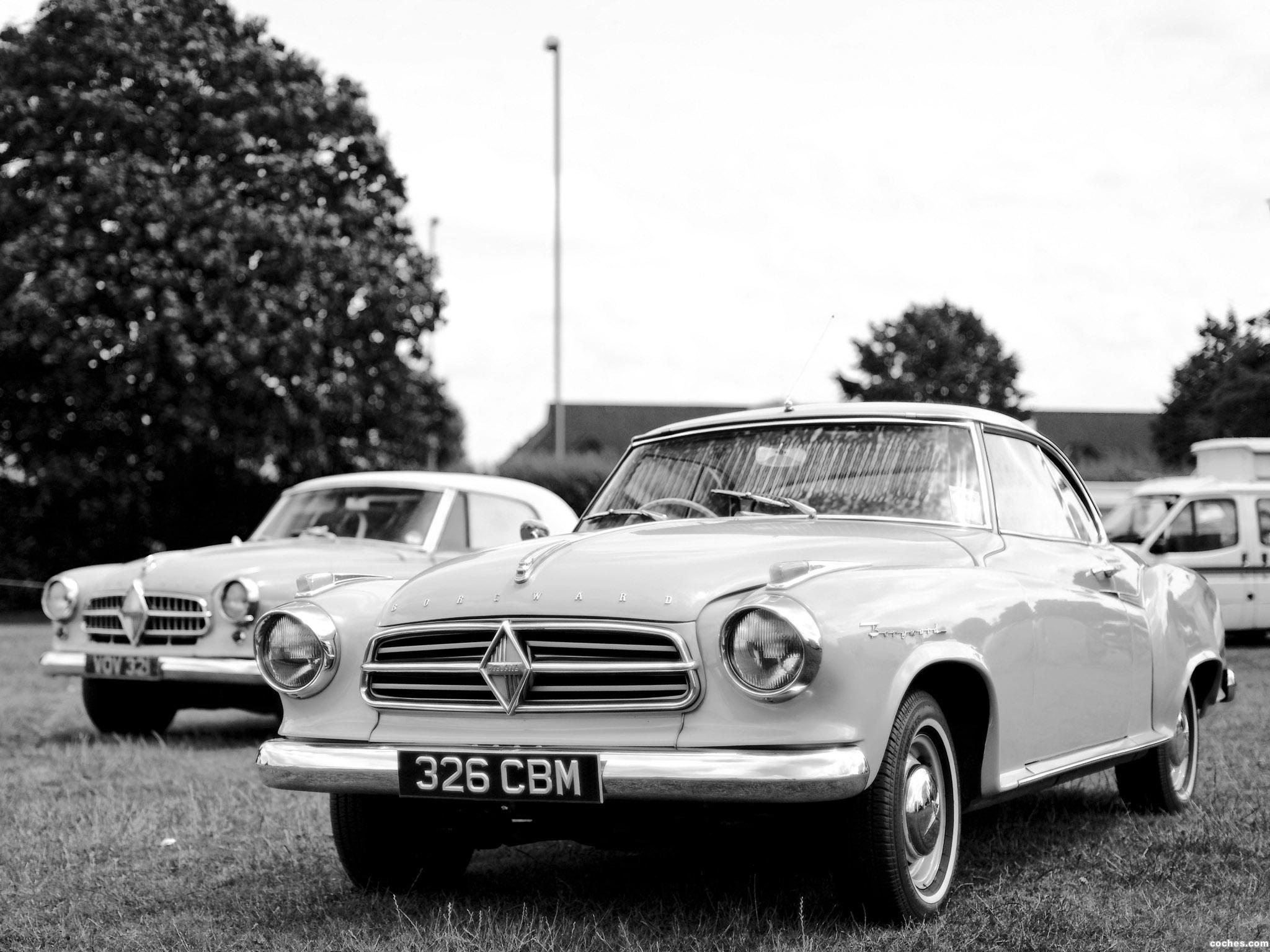Foto 0 de Borgward Isabella Coupe 1958