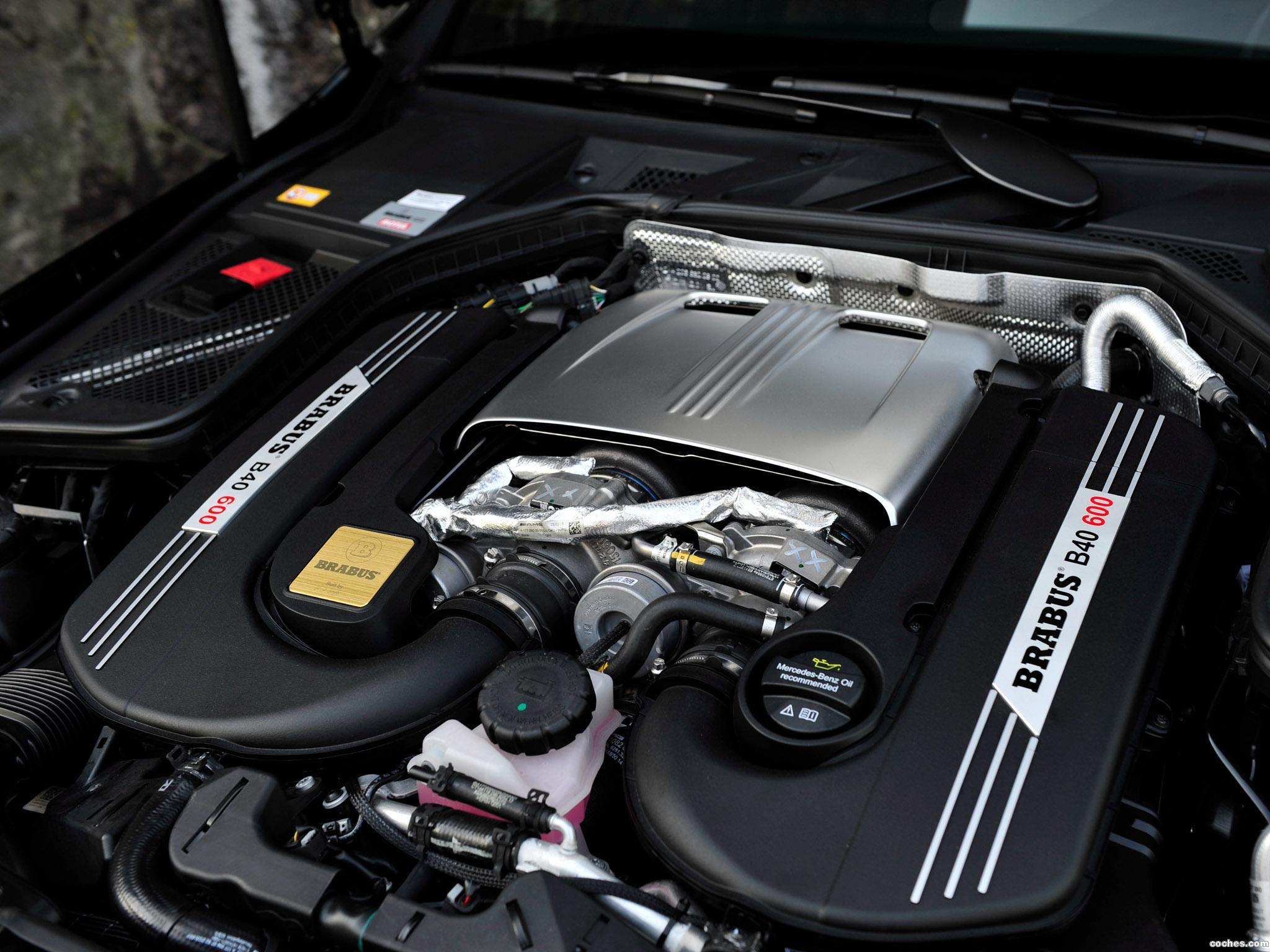 Foto 14 de Brabus Mercedes AMG C63 600 W205 2015