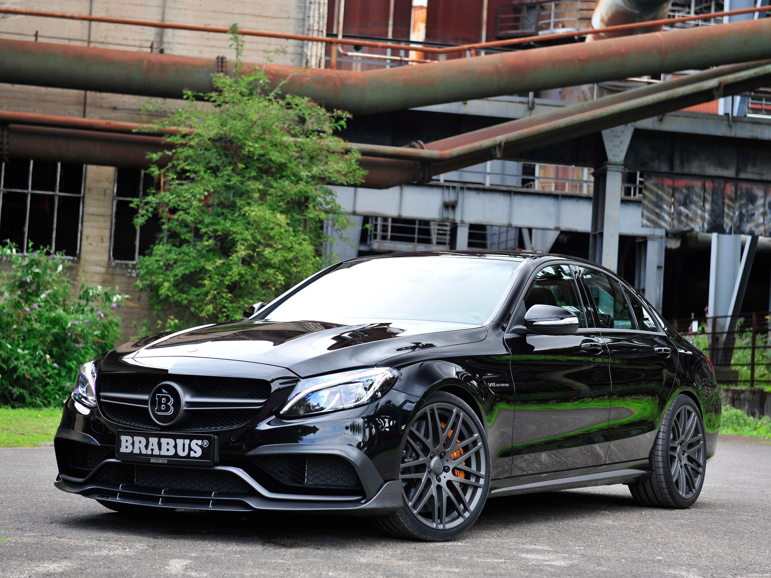 Foto 0 de Brabus Mercedes AMG C 63 S W205 2015