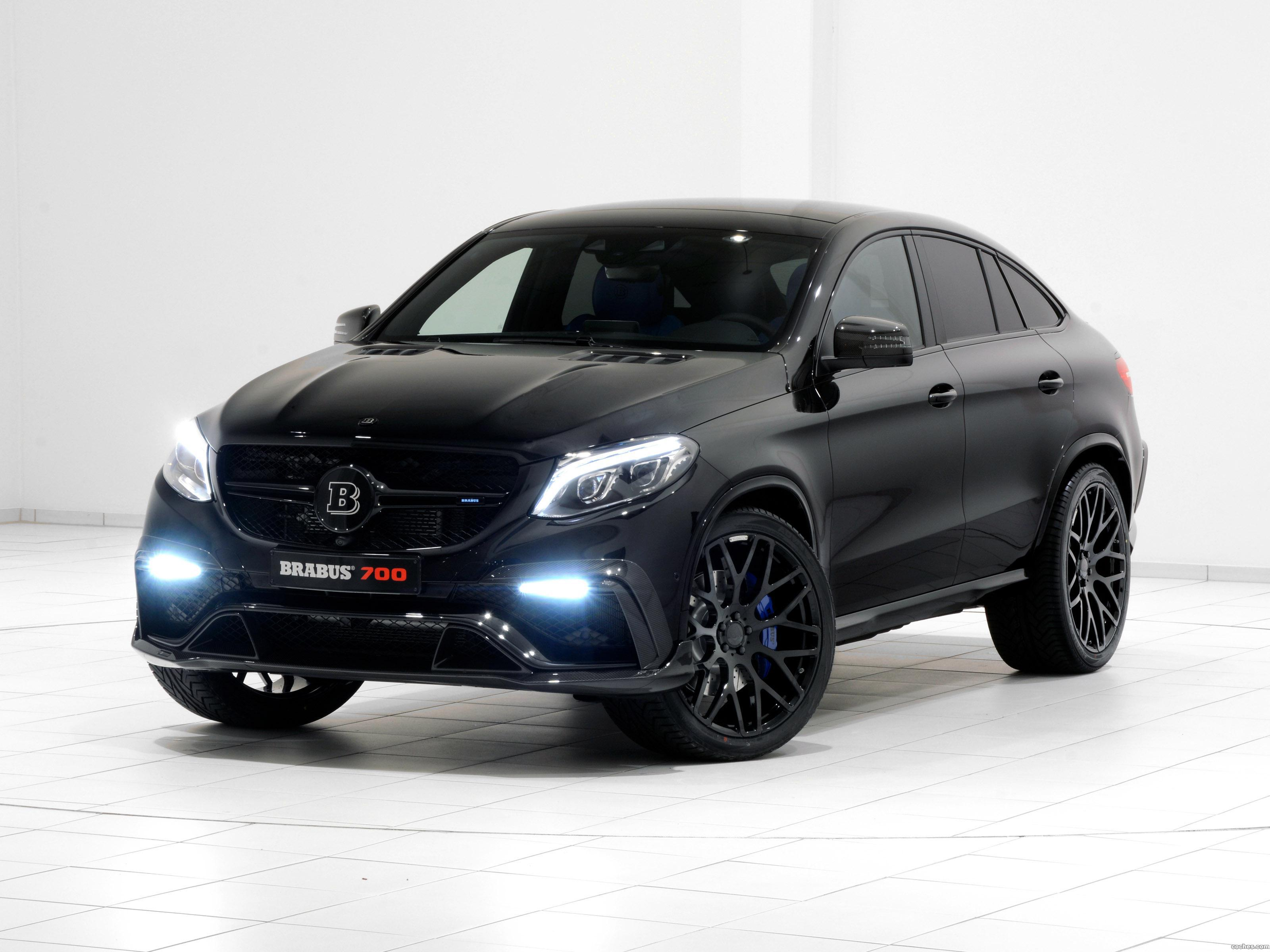 Foto 0 de Mercedes Brabus AMG GLE 63 4MATIC Coupe C292 2015