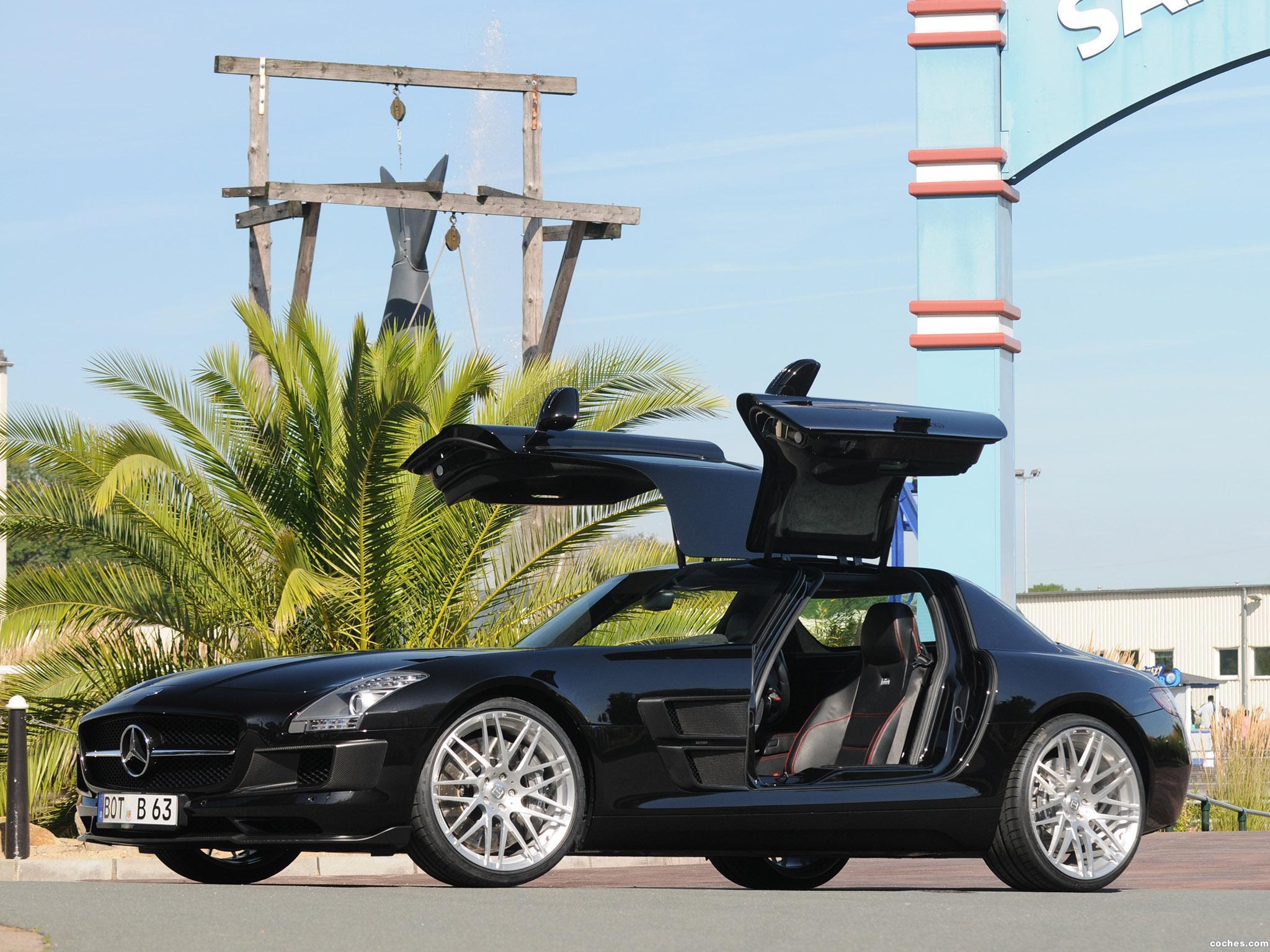 Foto 0 de Mercedes Brabus SLS AMG 2010