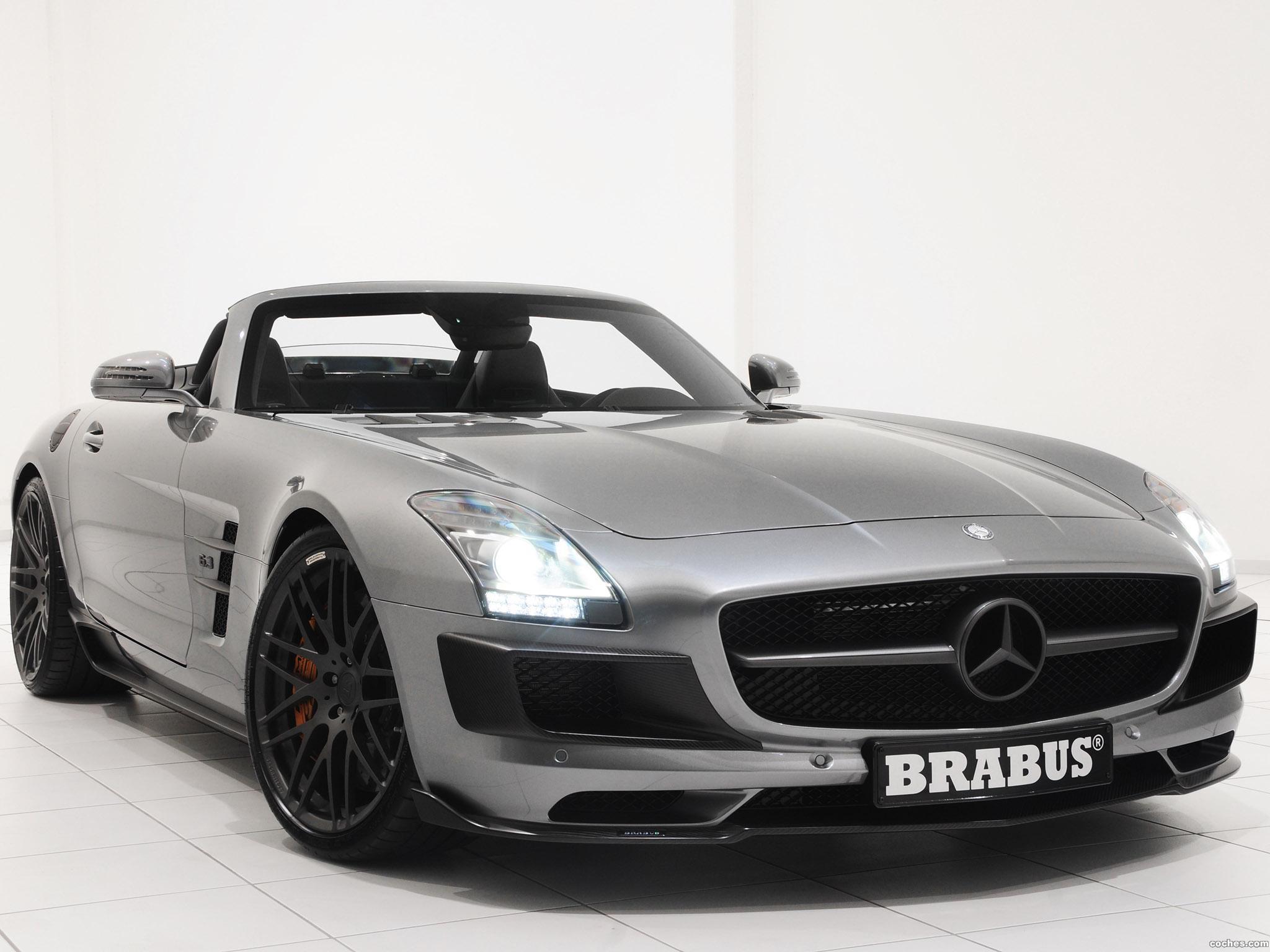Foto 0 de Mercedes Brabus SLS AMG Roadster 2011