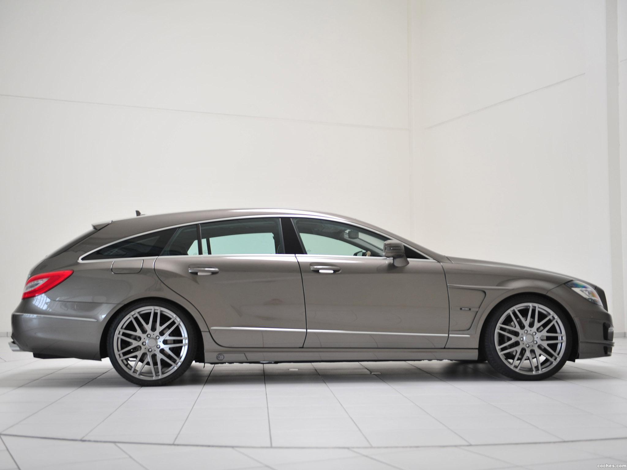 Foto 1 de Mercedes Brabus CLS Shooting Brake X218 2012
