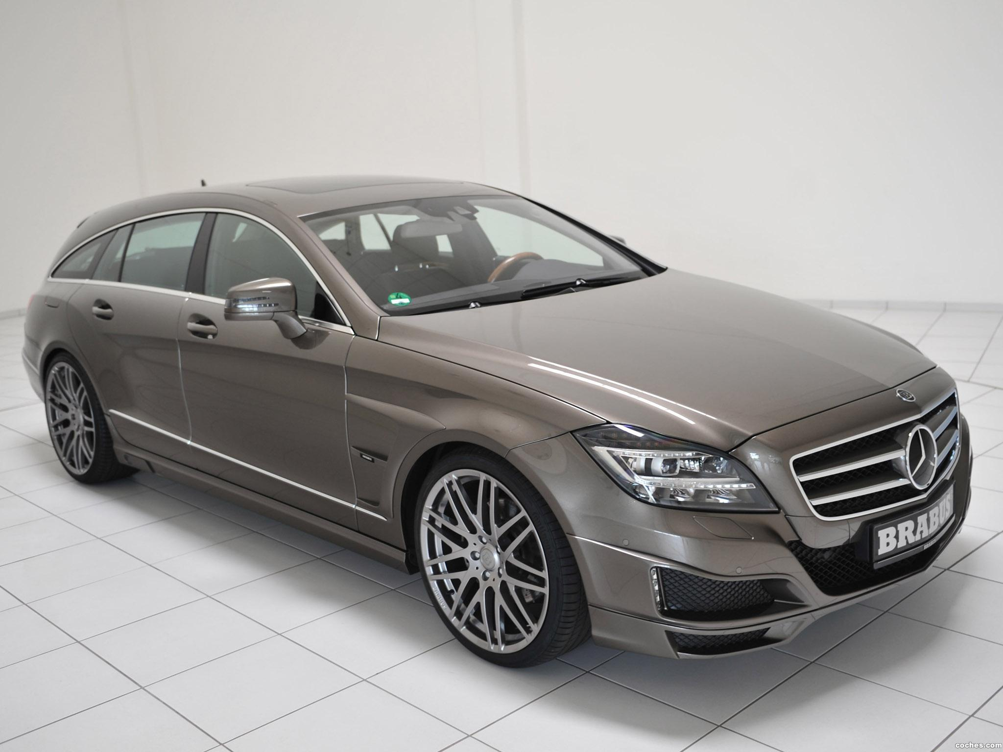 Foto 0 de Mercedes Brabus CLS Shooting Brake X218 2012