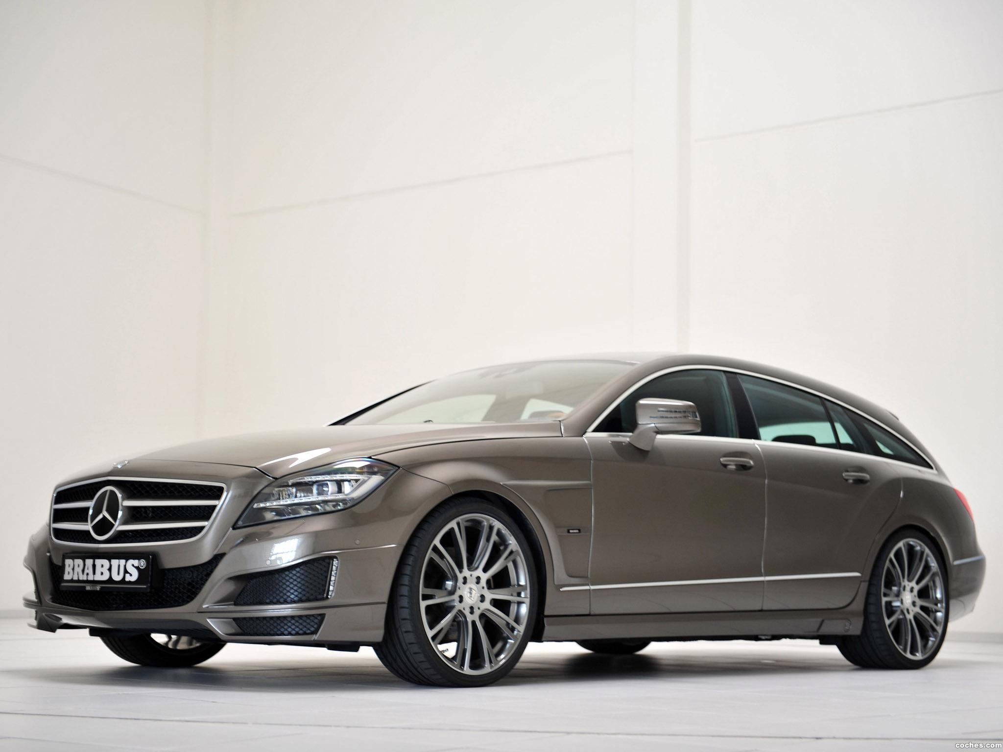 Foto 9 de Mercedes Brabus CLS Shooting Brake X218 2012