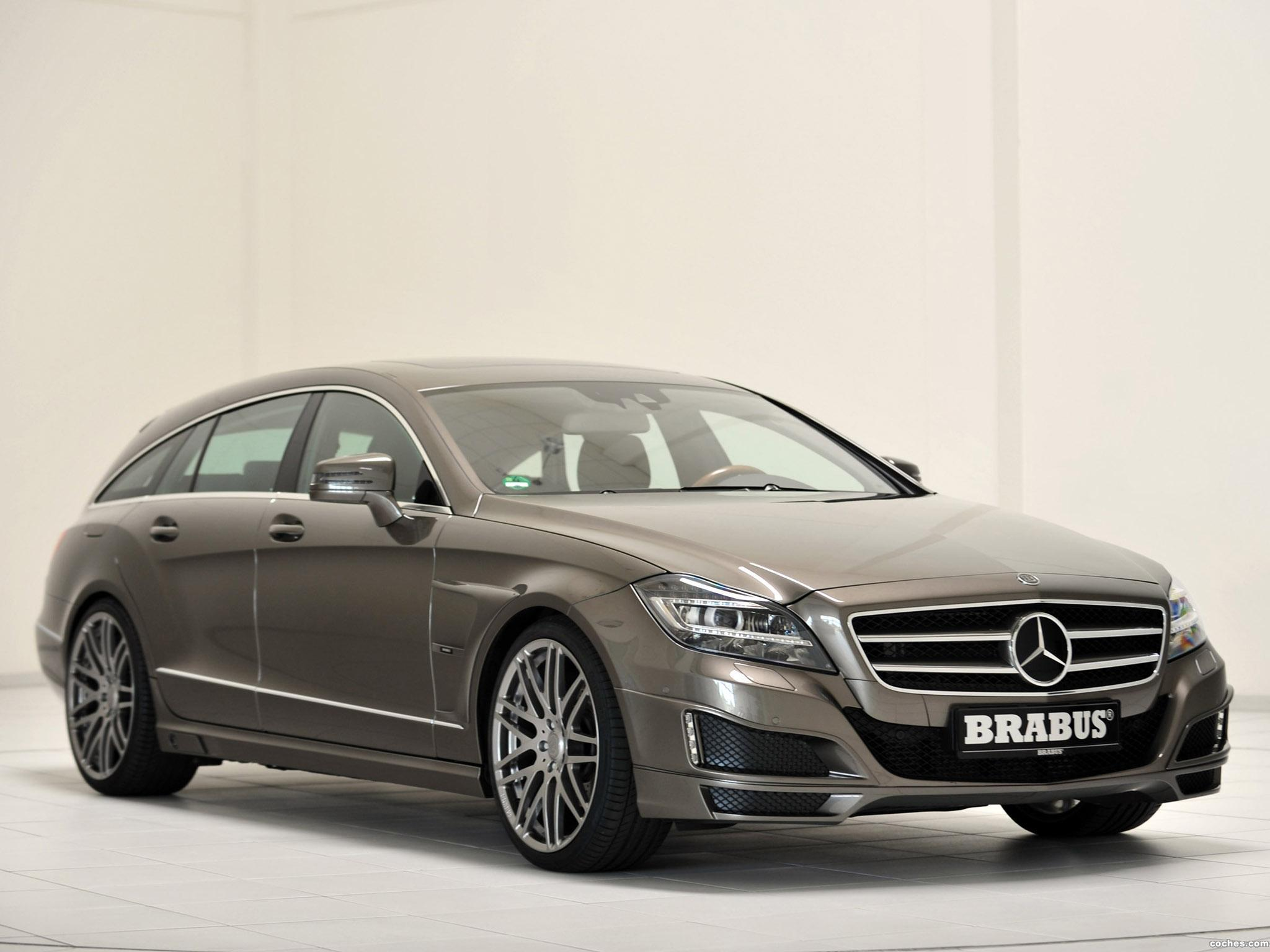 Foto 8 de Mercedes Brabus CLS Shooting Brake X218 2012