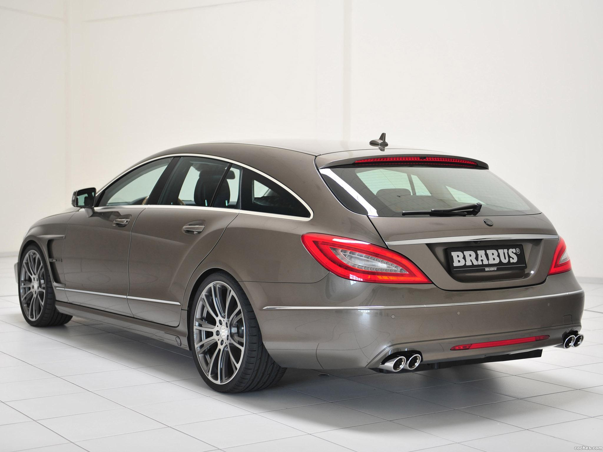 Foto 7 de Mercedes Brabus CLS Shooting Brake X218 2012