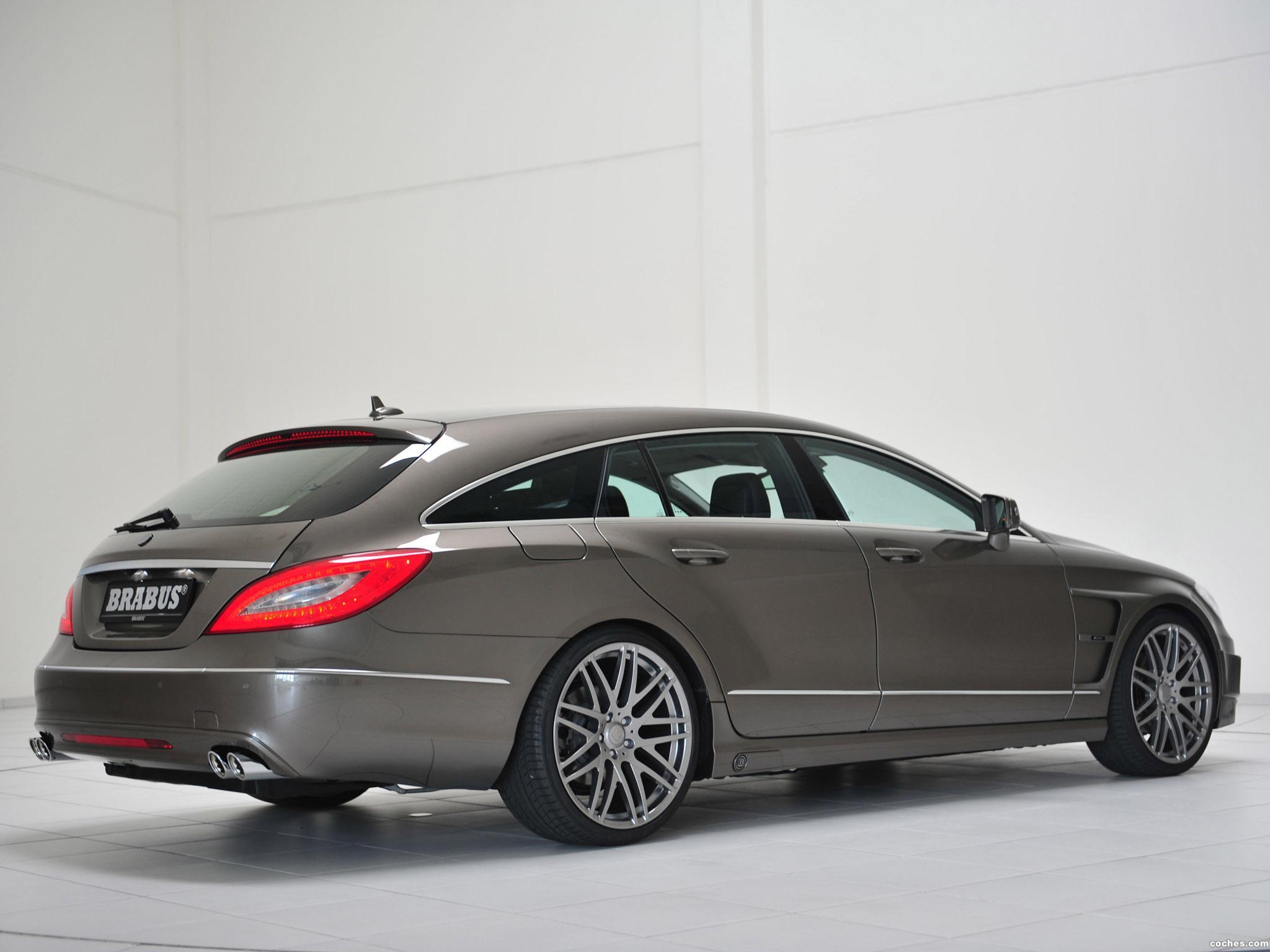 Foto 6 de Mercedes Brabus CLS Shooting Brake X218 2012