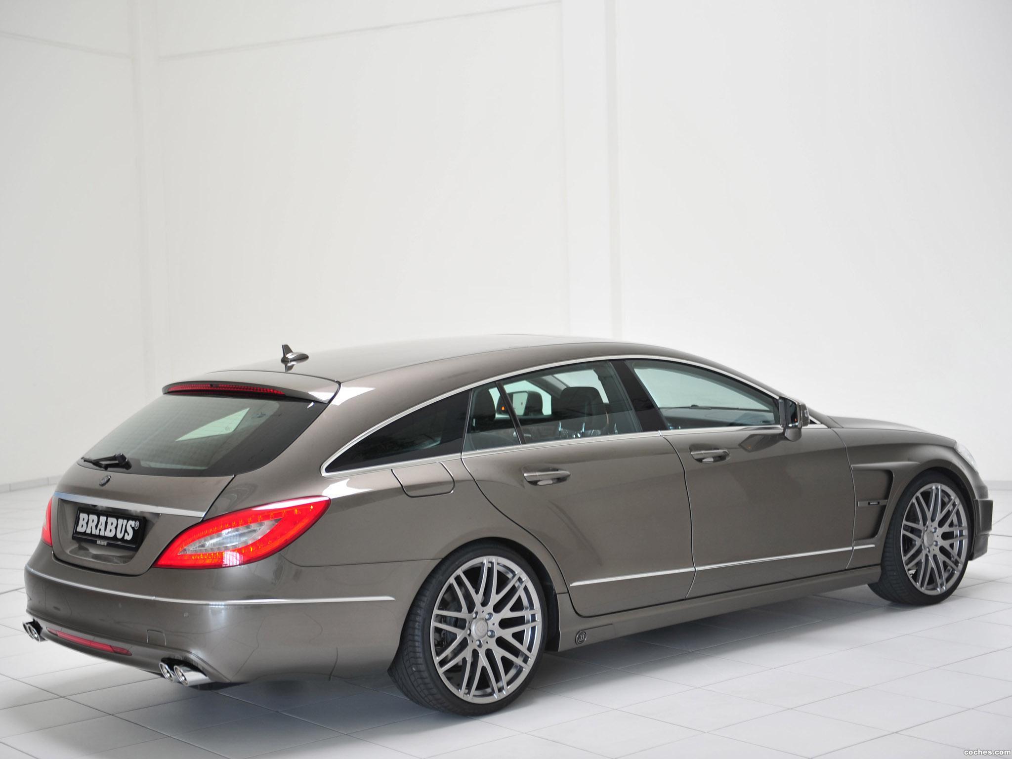 Foto 5 de Mercedes Brabus CLS Shooting Brake X218 2012