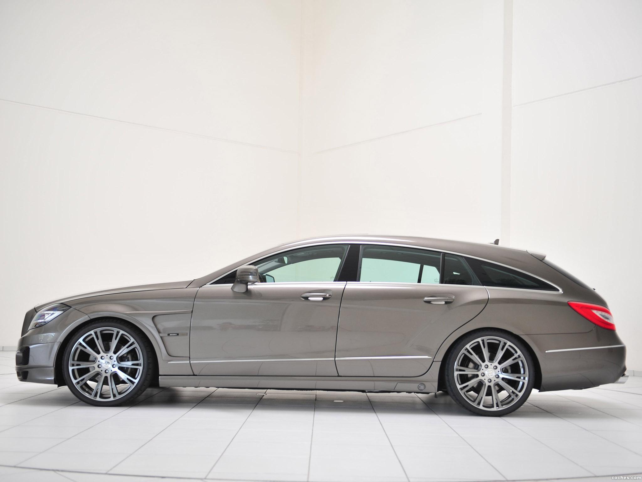 Foto 2 de Mercedes Brabus CLS Shooting Brake X218 2012