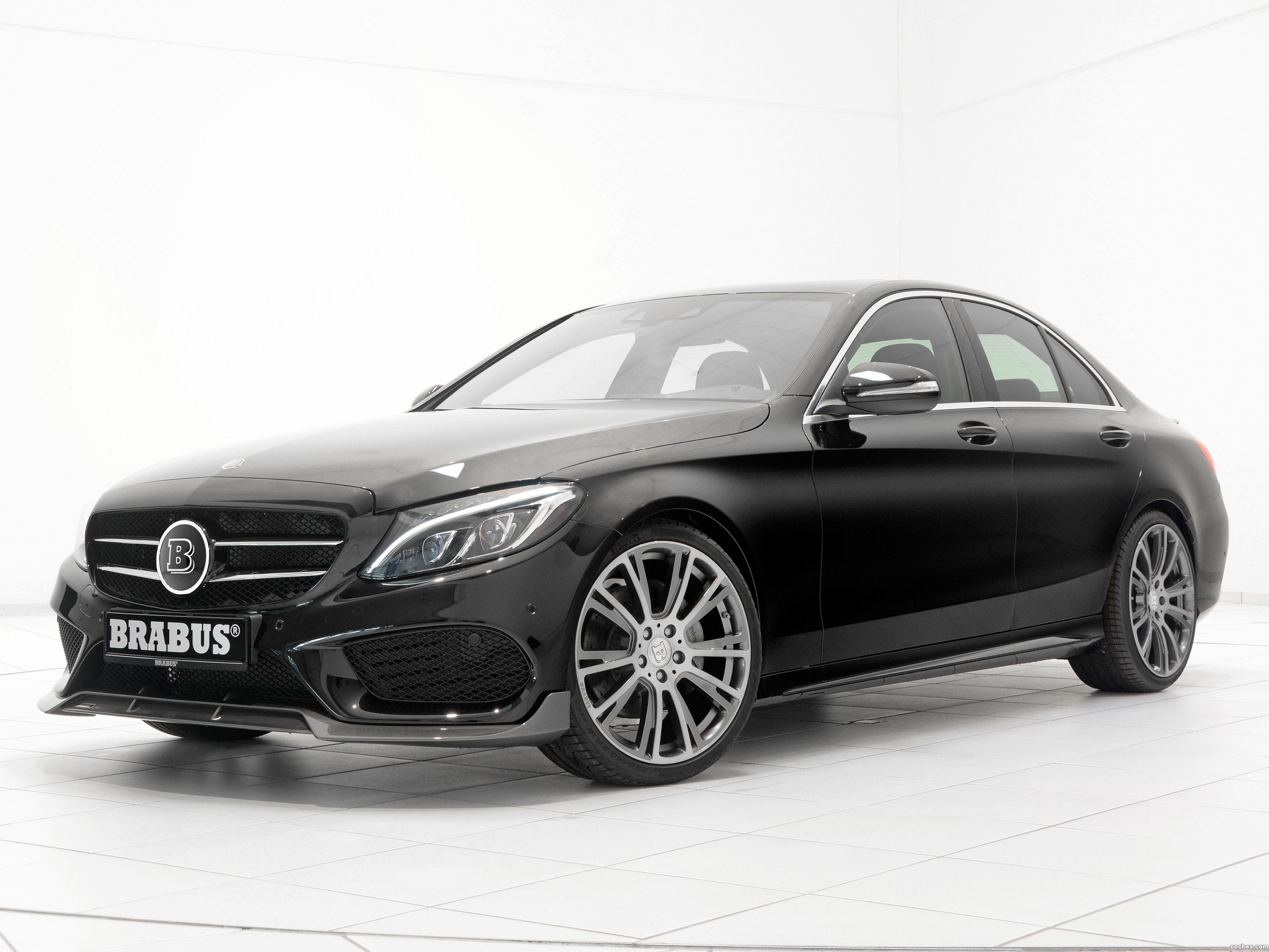fotos de mercedes brabus clase c amg line w205 2015. Black Bedroom Furniture Sets. Home Design Ideas