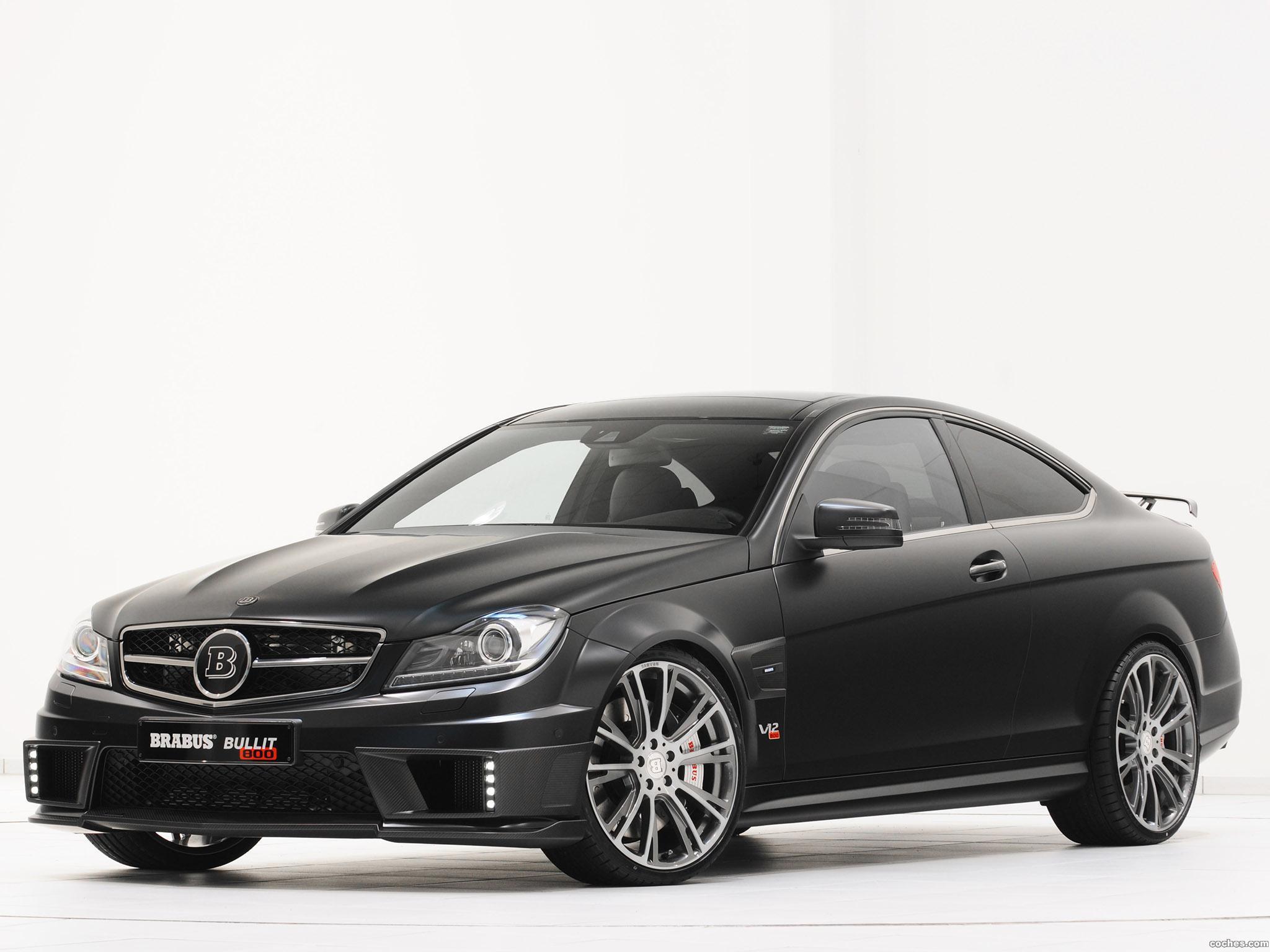 Foto 17 de Mercedes Brabus Clase C Coupe Bullit 800  2012