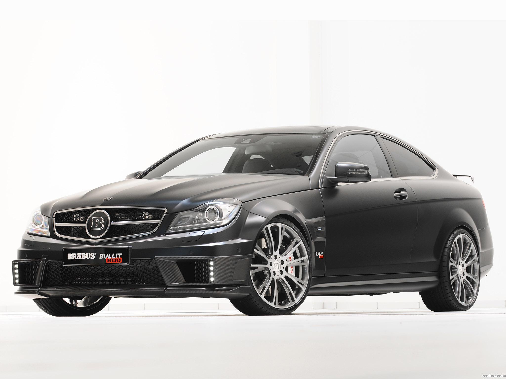 Foto 16 de Mercedes Brabus Clase C Coupe Bullit 800  2012
