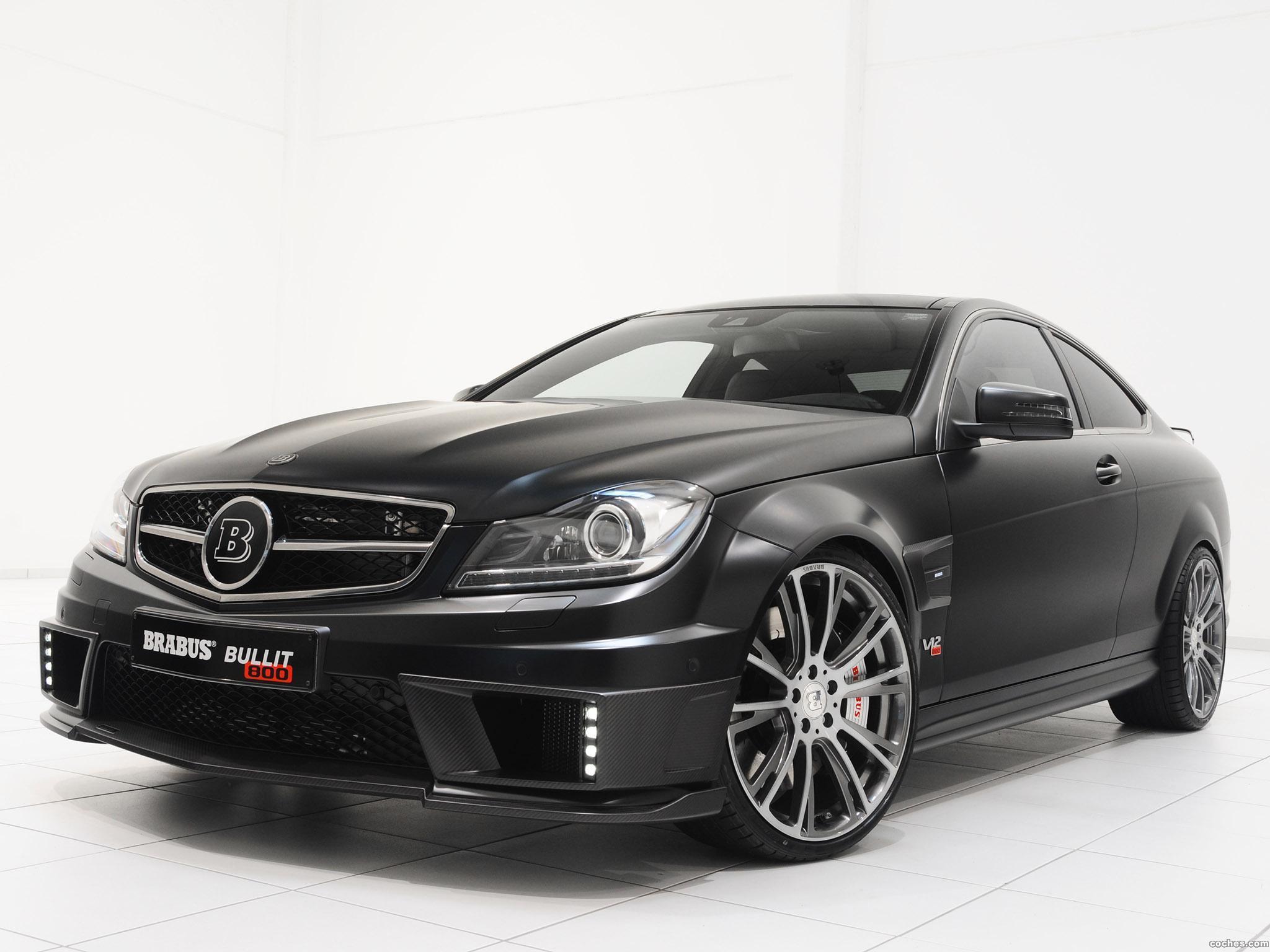 Foto 13 de Mercedes Brabus Clase C Coupe Bullit 800  2012