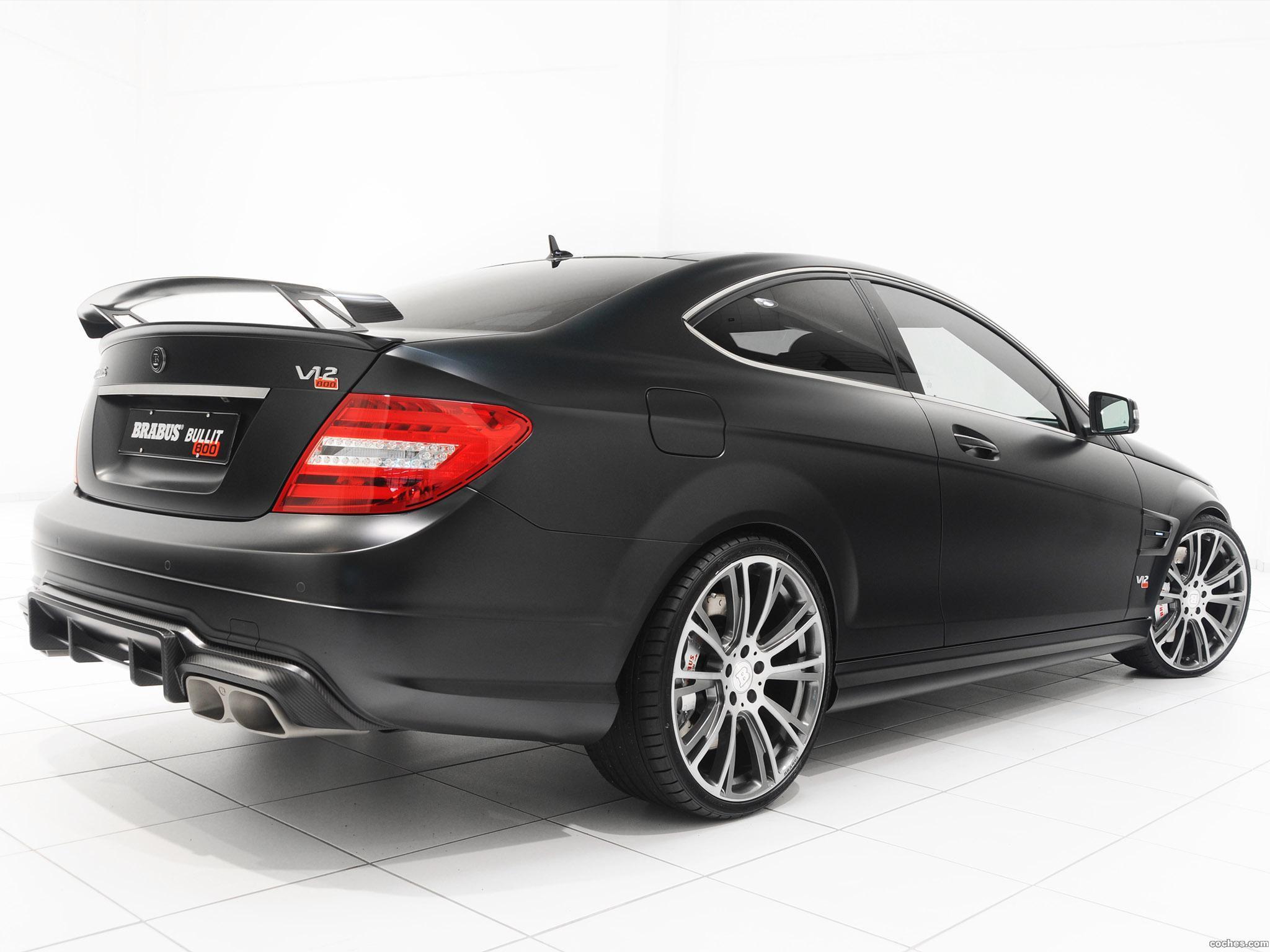 Foto 11 de Mercedes Brabus Clase C Coupe Bullit 800  2012