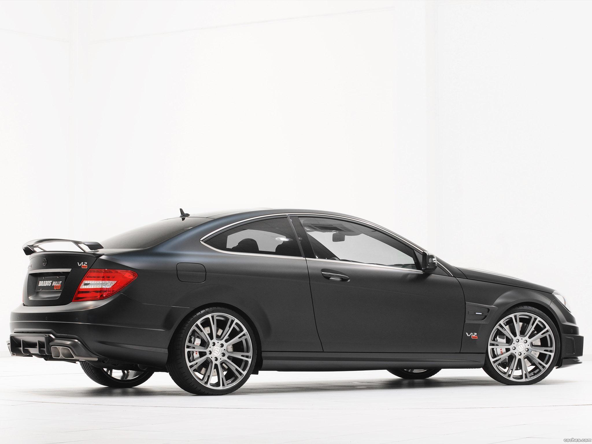 Foto 9 de Mercedes Brabus Clase C Coupe Bullit 800  2012