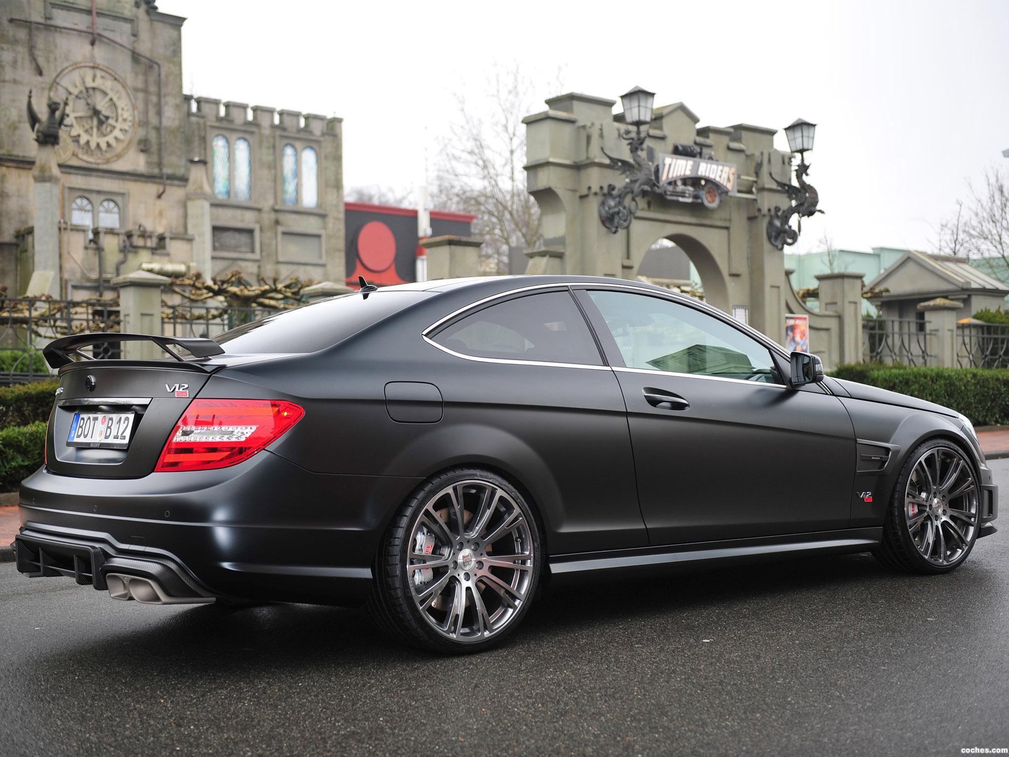 Foto 6 de Mercedes Brabus Clase C Coupe Bullit 800  2012