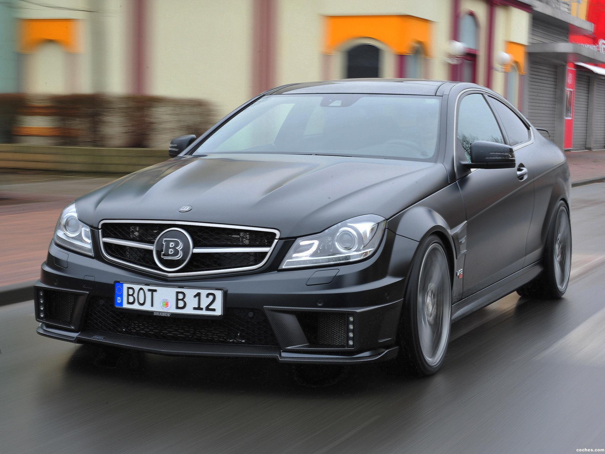 Foto 4 de Mercedes Brabus Clase C Coupe Bullit 800  2012