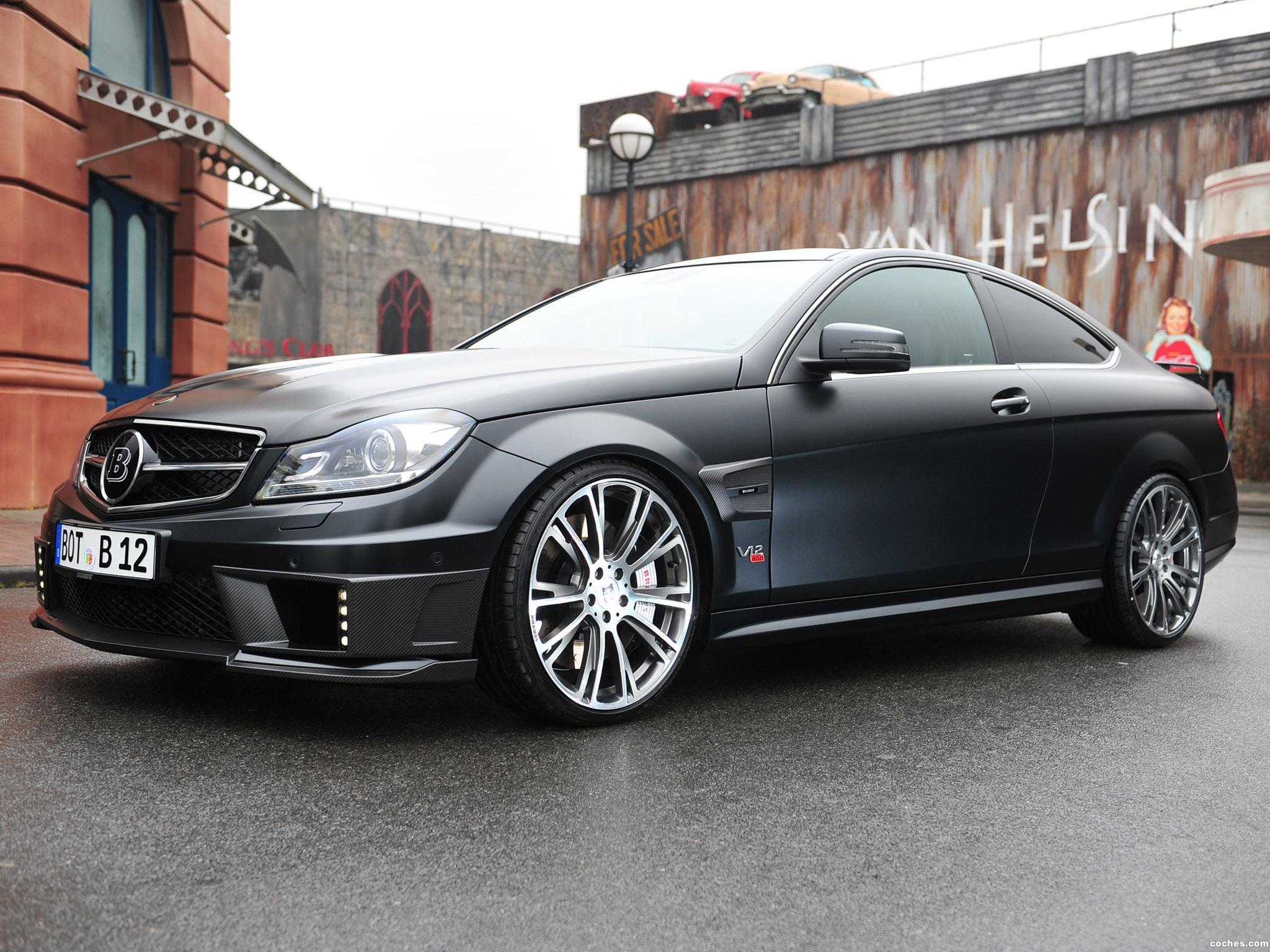 Foto 1 de Mercedes Brabus Clase C Coupe Bullit 800  2012