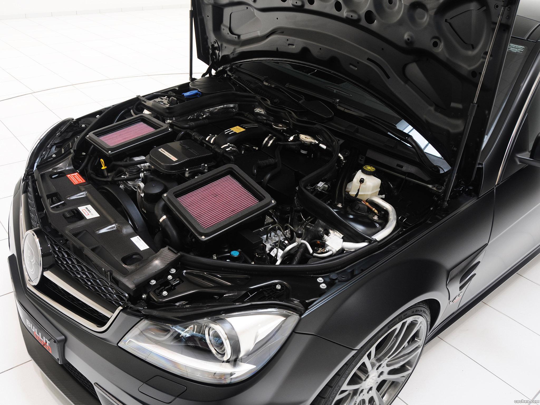 Foto 24 de Mercedes Brabus Clase C Coupe Bullit 800  2012