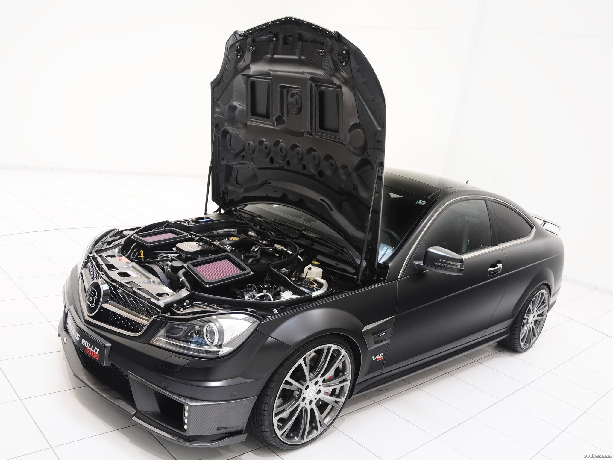 Foto 23 de Mercedes Brabus Clase C Coupe Bullit 800  2012