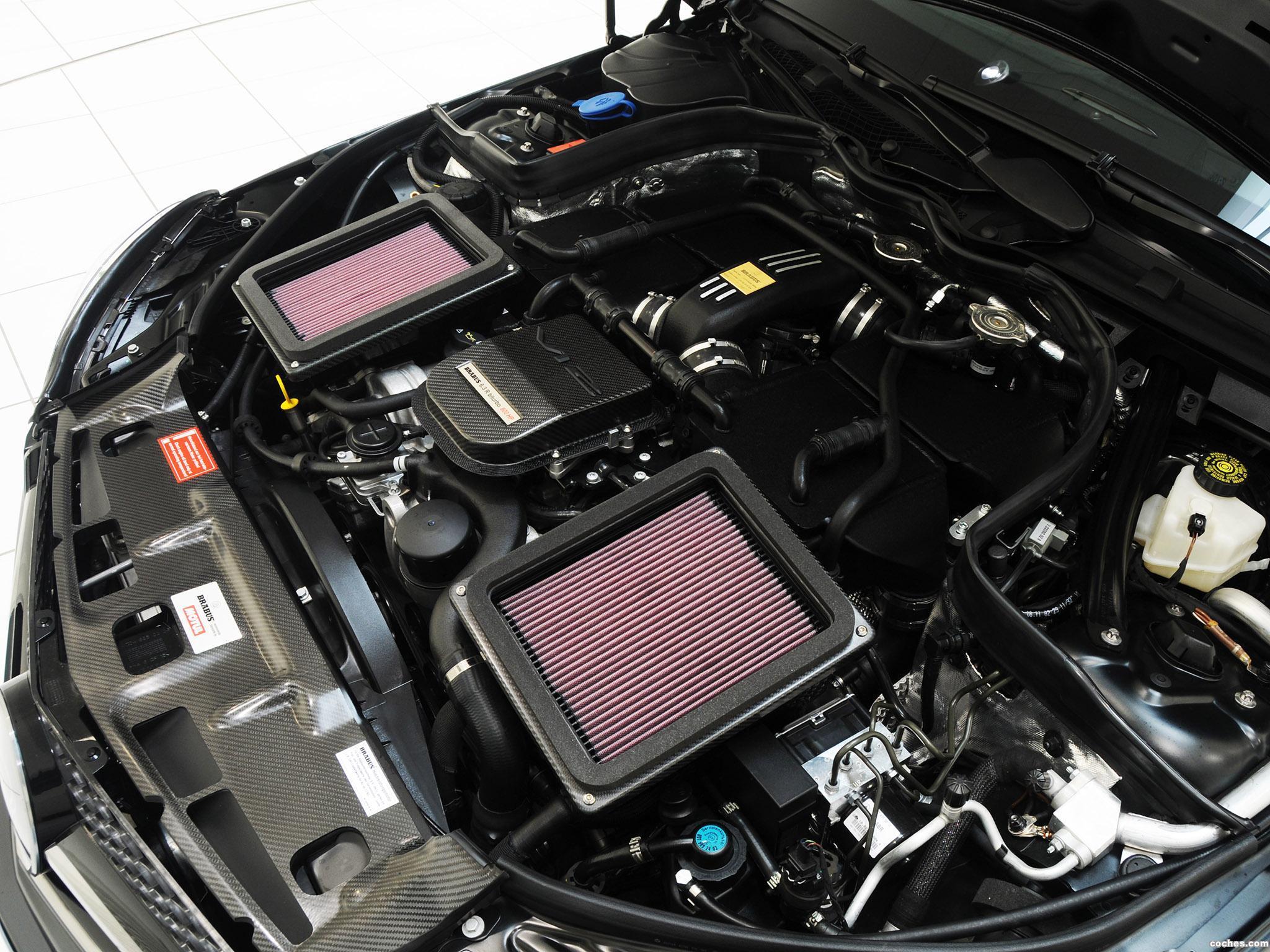 Foto 22 de Mercedes Brabus Clase C Coupe Bullit 800  2012