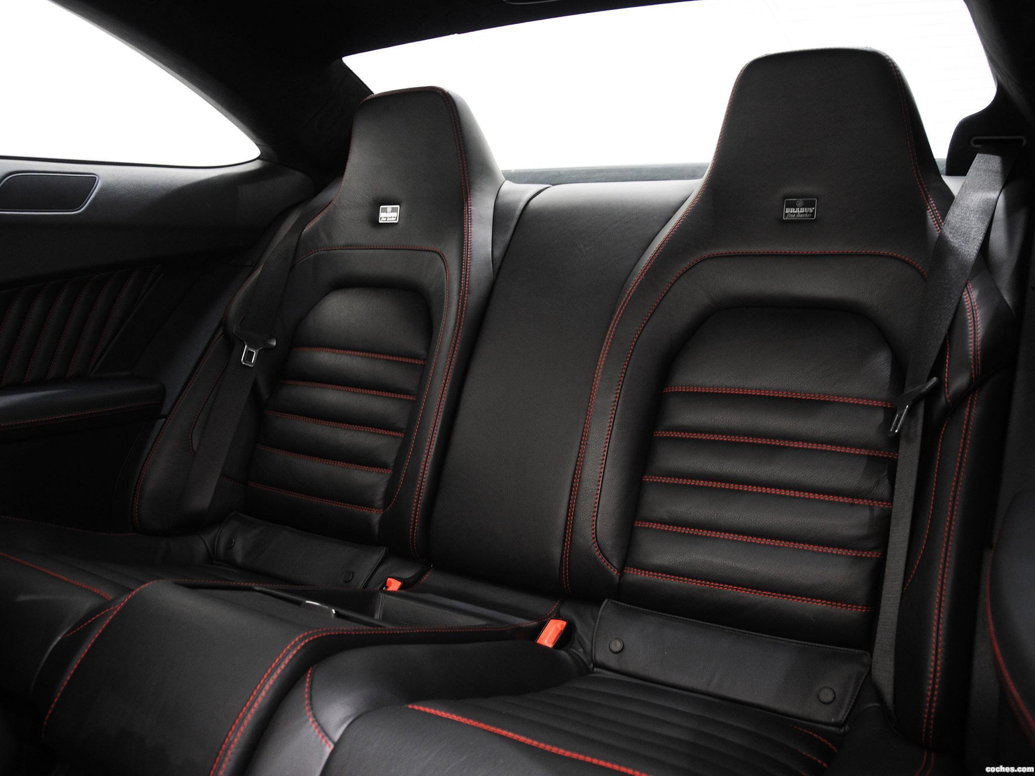 Foto 21 de Mercedes Brabus Clase C Coupe Bullit 800  2012