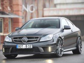 Fotos de Mercedes Brabus Clase C Coupe Bullit 800  2012