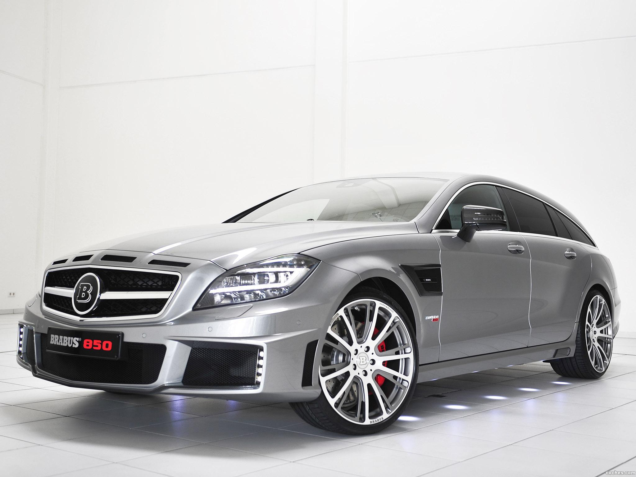 Foto 0 de Mercedes Brabus CLS Shooting Brake 850 6.0 Biturbo 2013