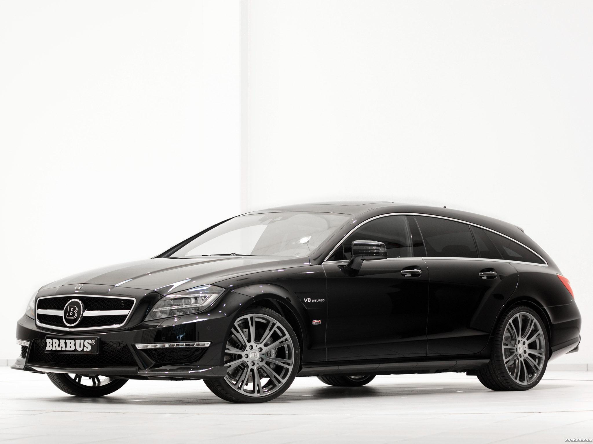 Foto 0 de Brabus Mercedes CLS Shoting Brake B63S X218 2013