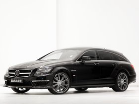 Fotos de Mercedes Brabus CLS Shoting Brake B63S X218 2013