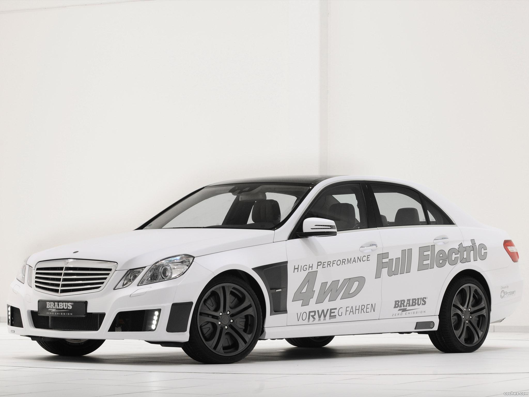 Foto 4 de Brabus Mercedes Clase E High Performance 4WD Full Electric 2011