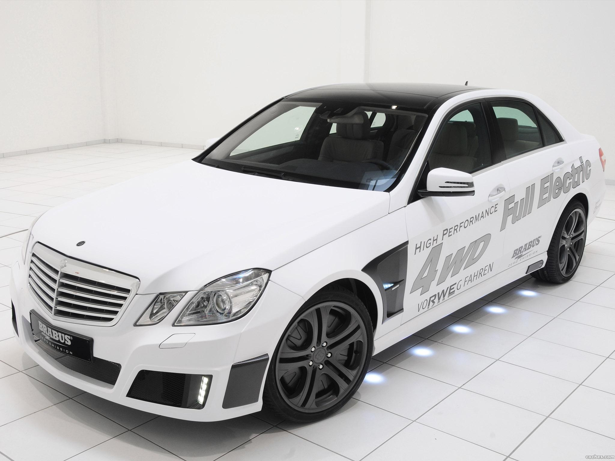 Foto 0 de Brabus Mercedes Clase E High Performance 4WD Full Electric 2011