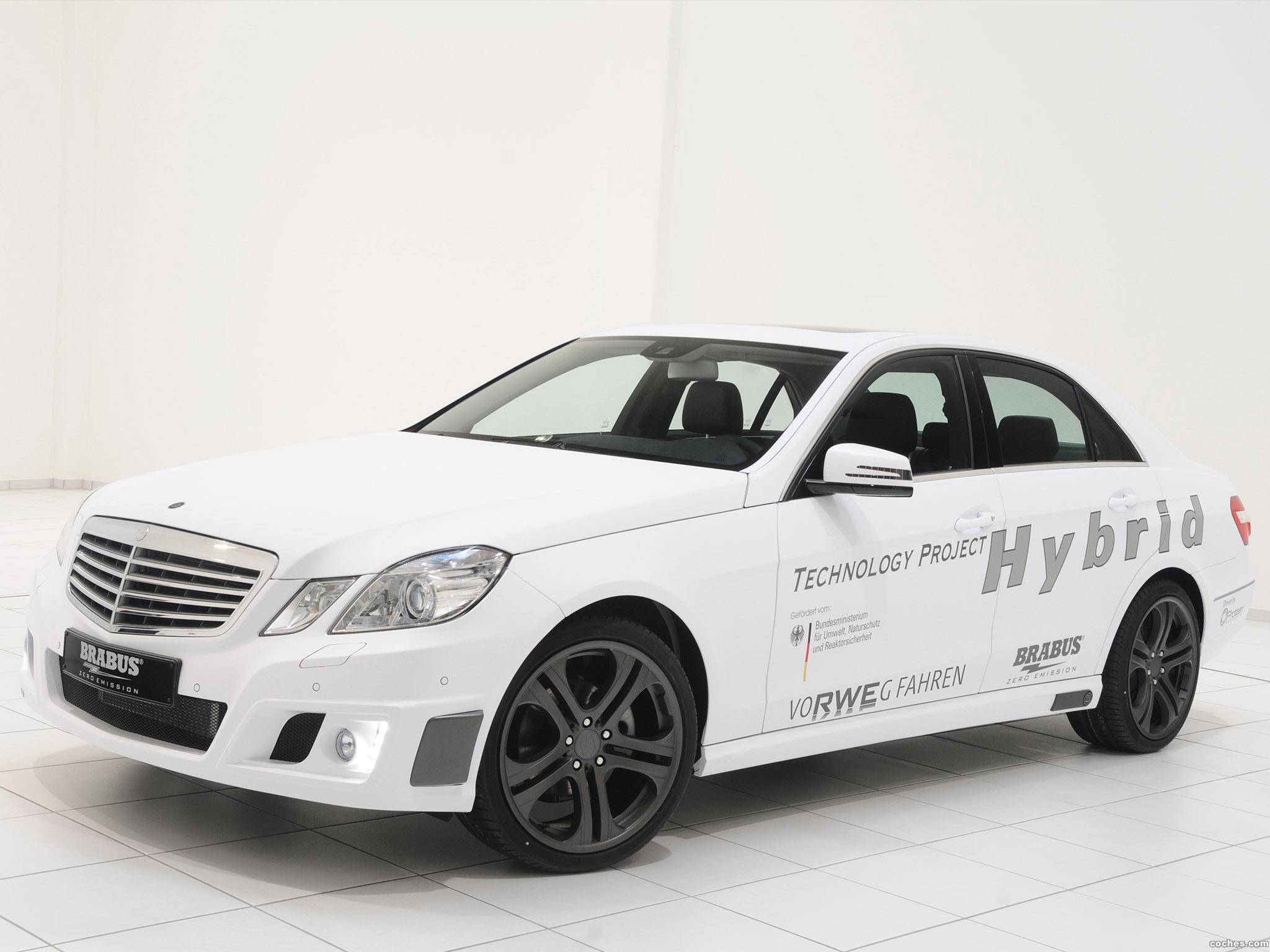 Foto 0 de Brabus Mercedes Clase E Technologie Projekt Hybrid 2011