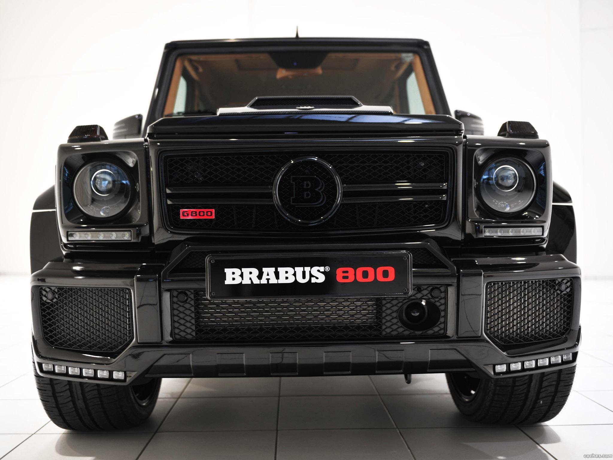 Foto 0 de Brabus Mercedes G 800 Widestar W463 2013