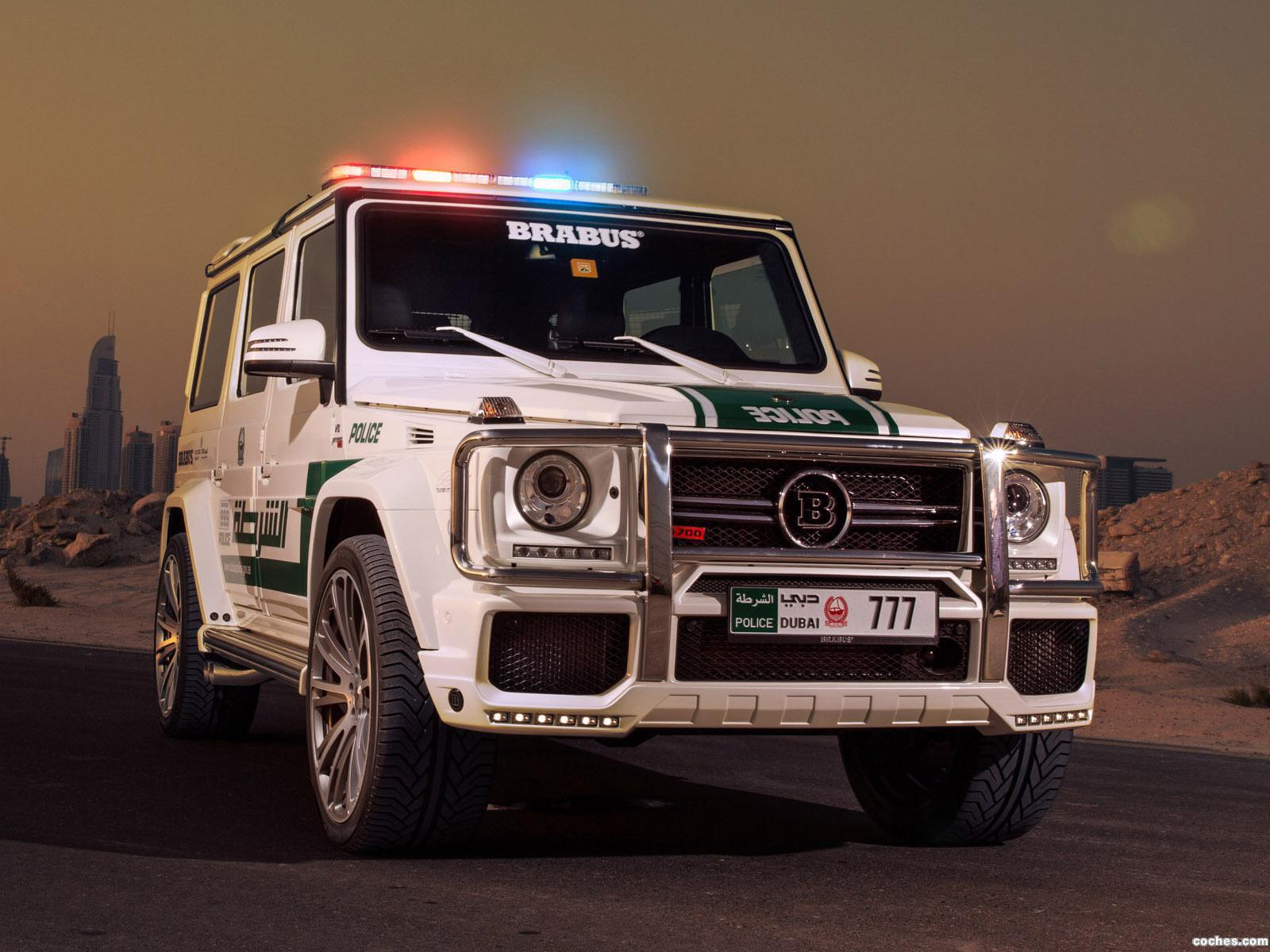 Foto 0 de Mercedes Brabus G700 Widestar Police W463  2013