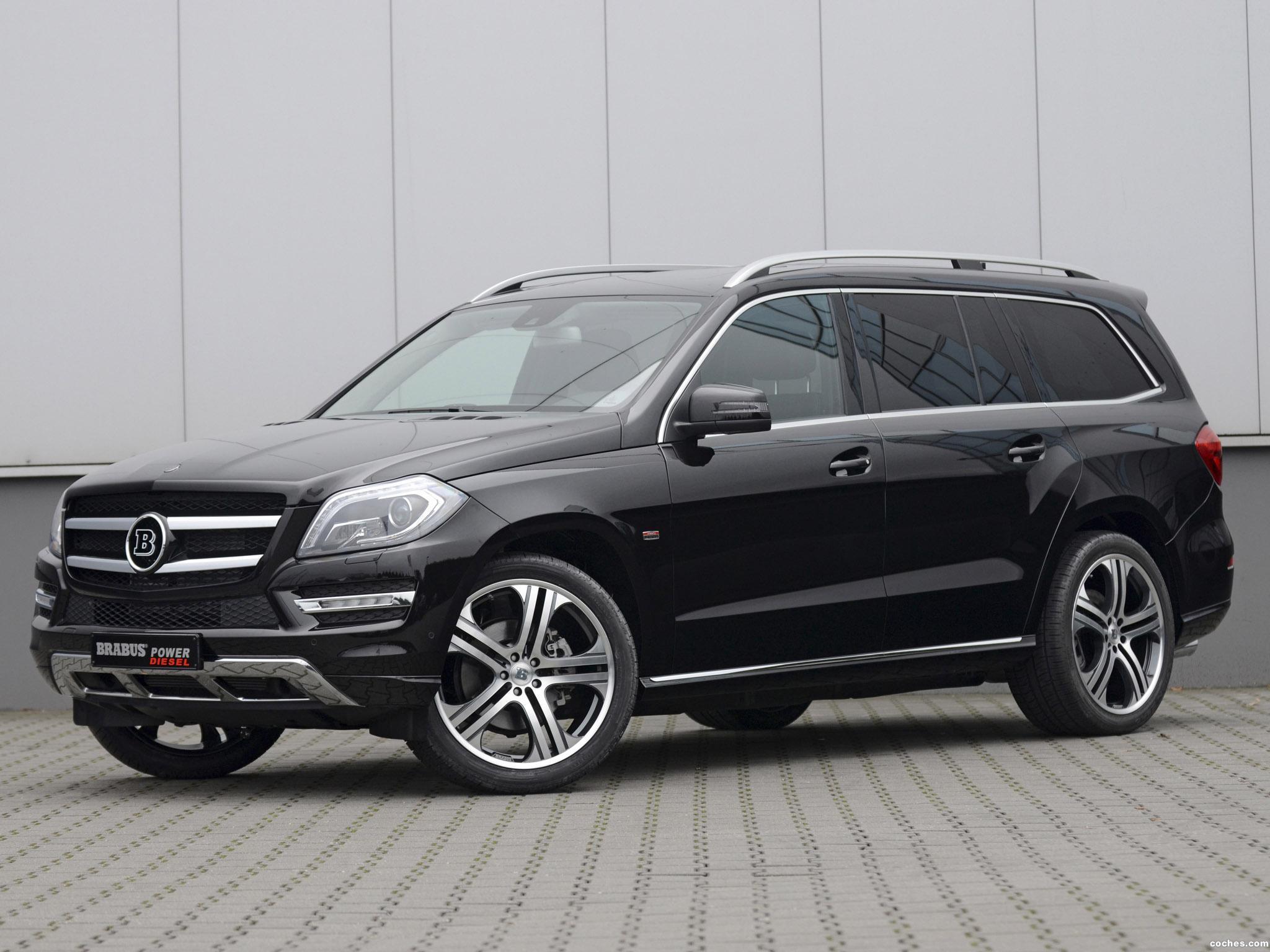 Foto 0 de Brabus Mercedes GL D6S X166 2012