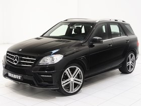 Fotos de Brabus Mercedes Clase M ML W166 2011