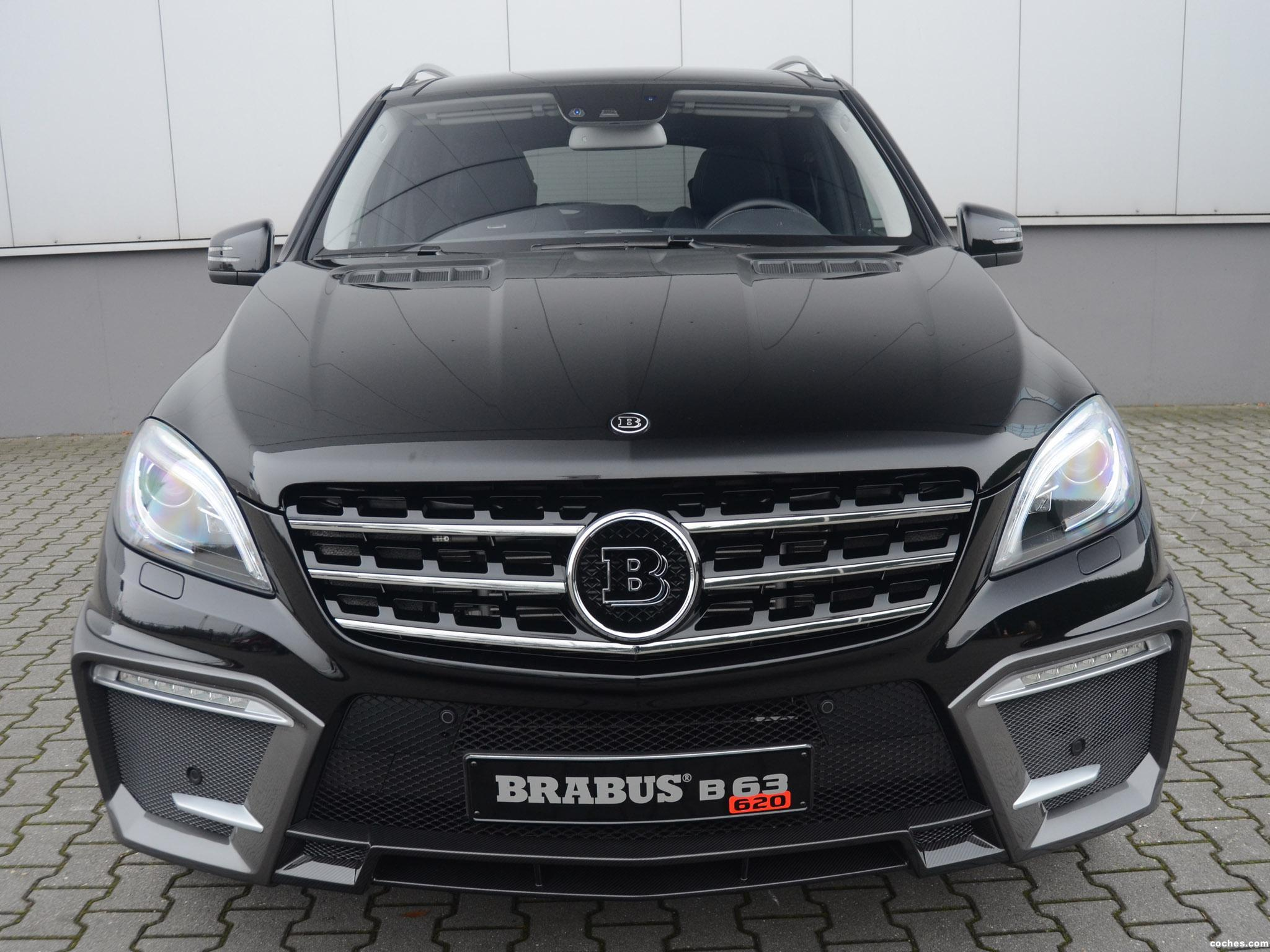 Foto 0 de Brabus Mercedes ML63 AMG B63 620 2012