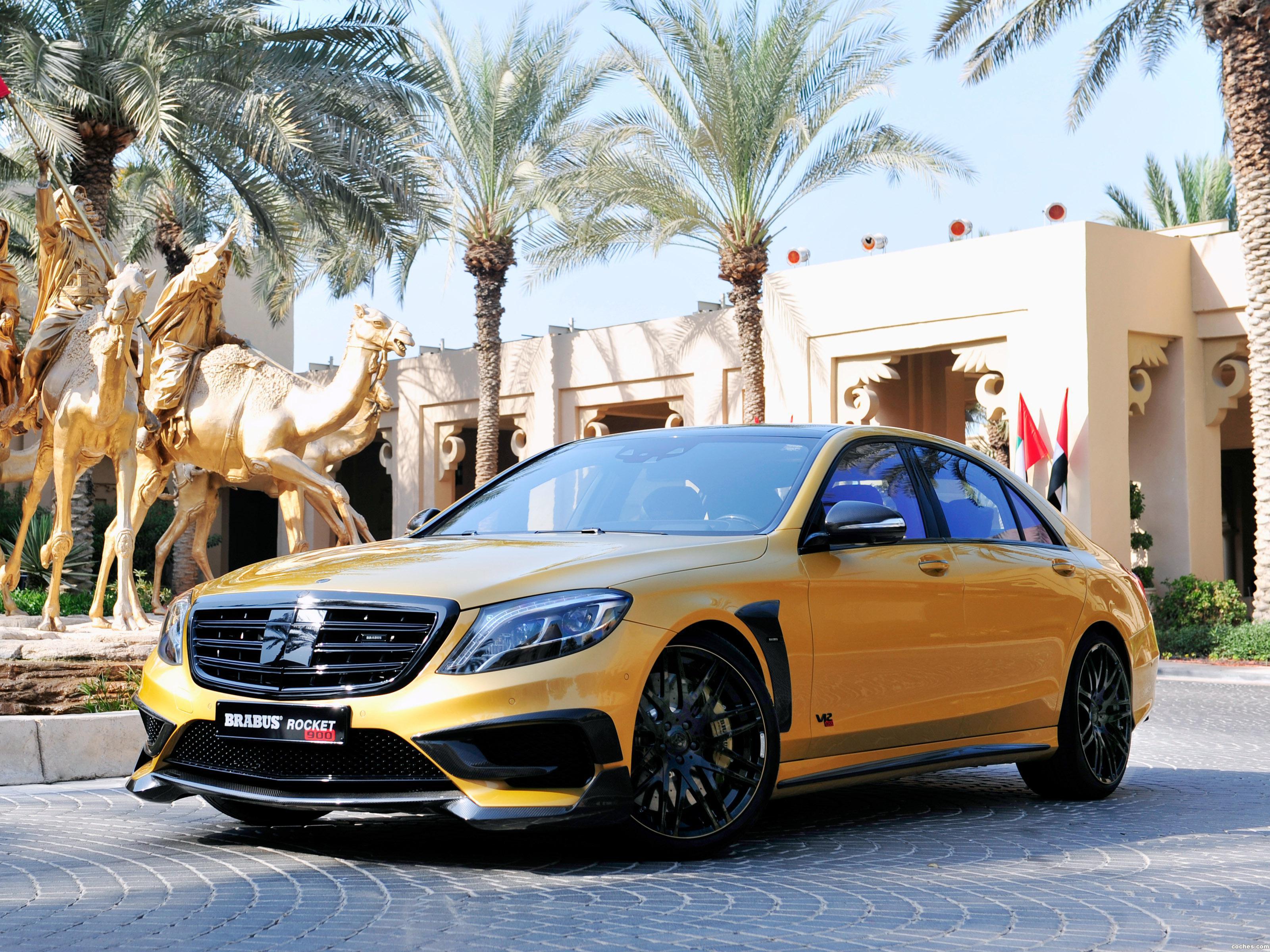 Foto 0 de Brabus Mercedes Clase S Rocket 900 Desert Gold Edition W222 2015