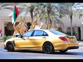 Ver foto 8 de Brabus Mercedes Clase S Rocket 900 Desert Gold Edition W222 2015