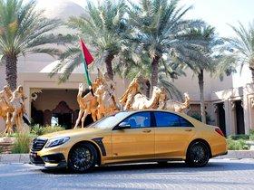 Ver foto 6 de Brabus Mercedes Clase S Rocket 900 Desert Gold Edition W222 2015
