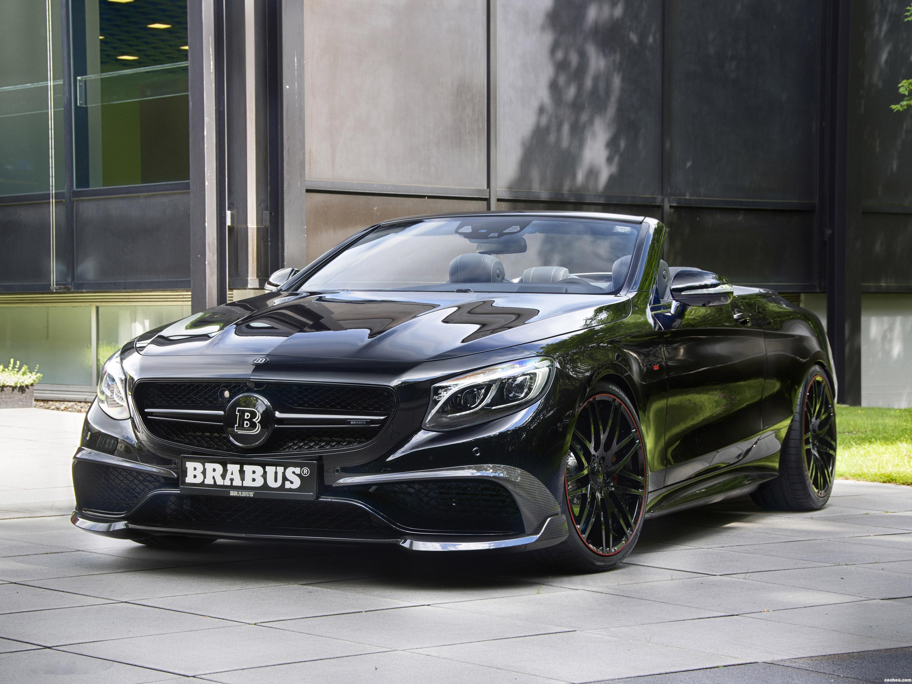 Foto 0 de Brabus Mercedes SL 850 Cabriolet A217 2016