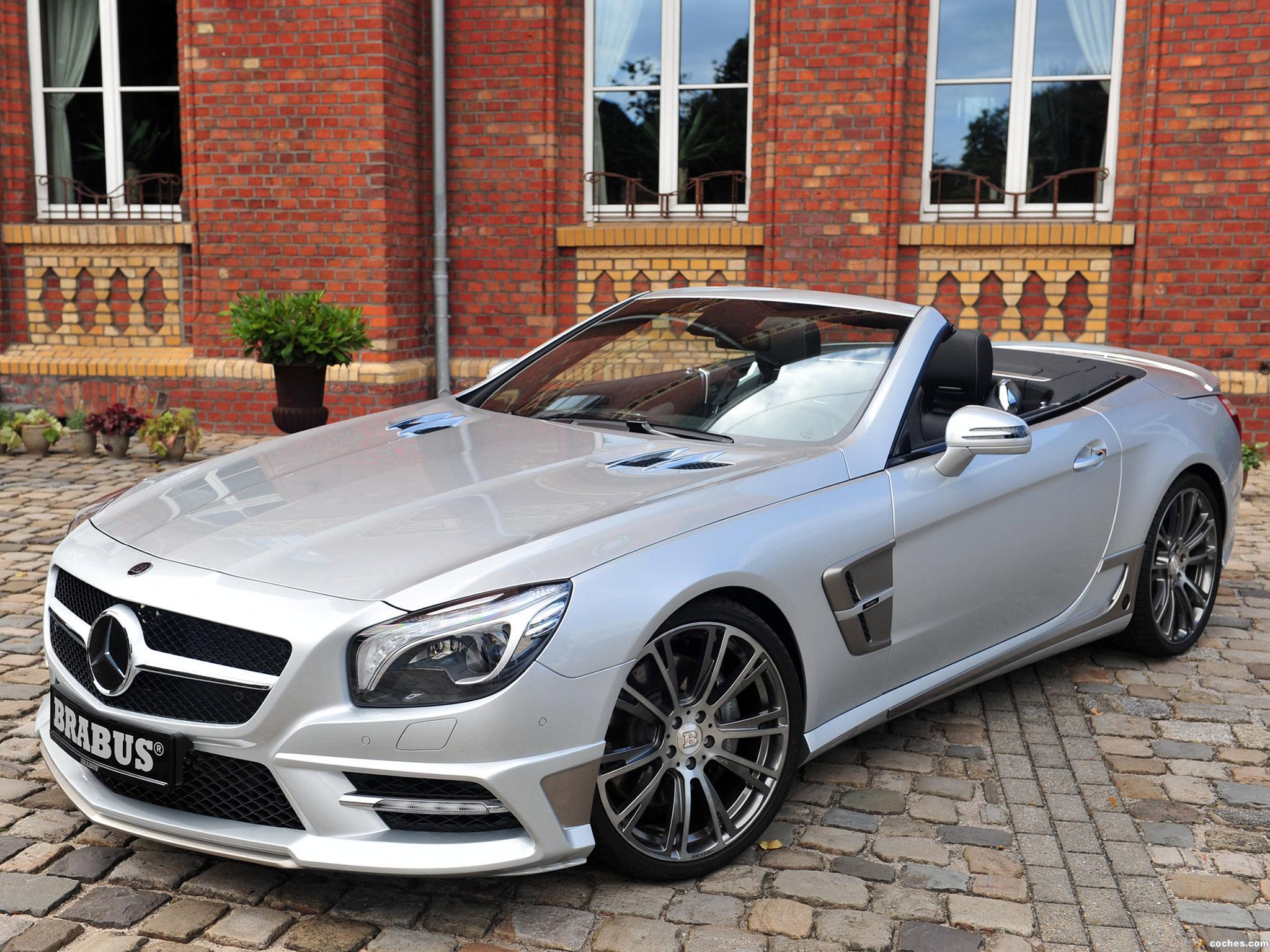 Foto 0 de Brabus Mercedes SL R231 2012